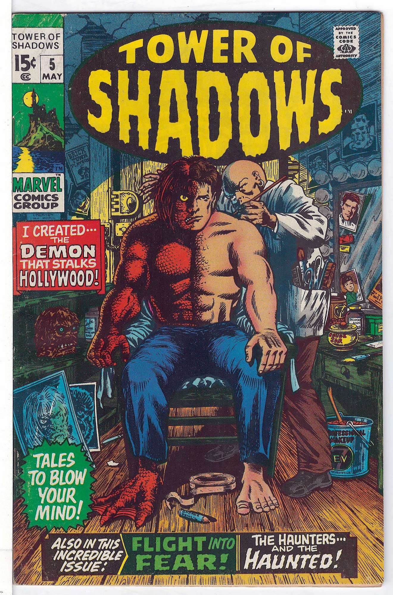Cover of Tower of Shadows (Vol 1) #5. One of 250,000 Vintage American Comics on sale from Krypton!