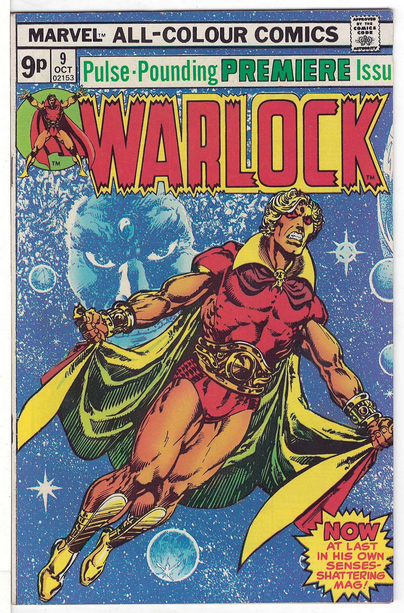 Cover of Warlock (Vol 1) The Power of #9. One of 250,000 Vintage American Comics on sale from Krypton!