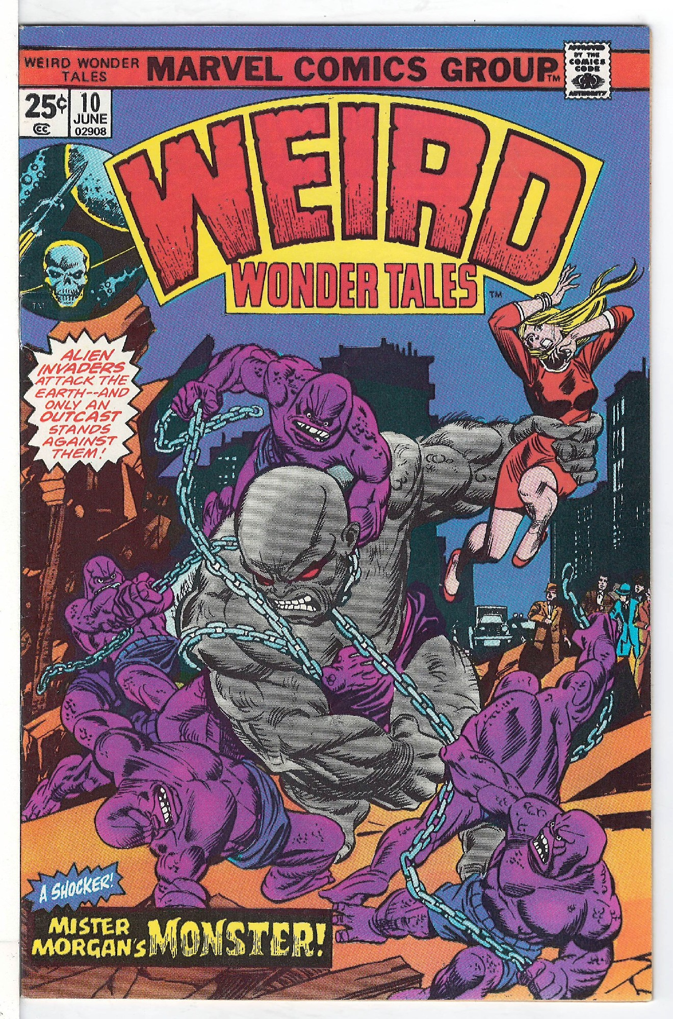 Cover of Weird Wonder Tales (Vol 1) #10. One of 250,000 Vintage American Comics on sale from Krypton!