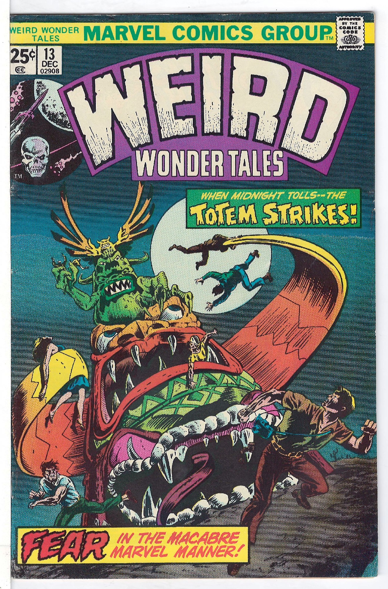 Cover of Weird Wonder Tales (Vol 1) #13. One of 250,000 Vintage American Comics on sale from Krypton!