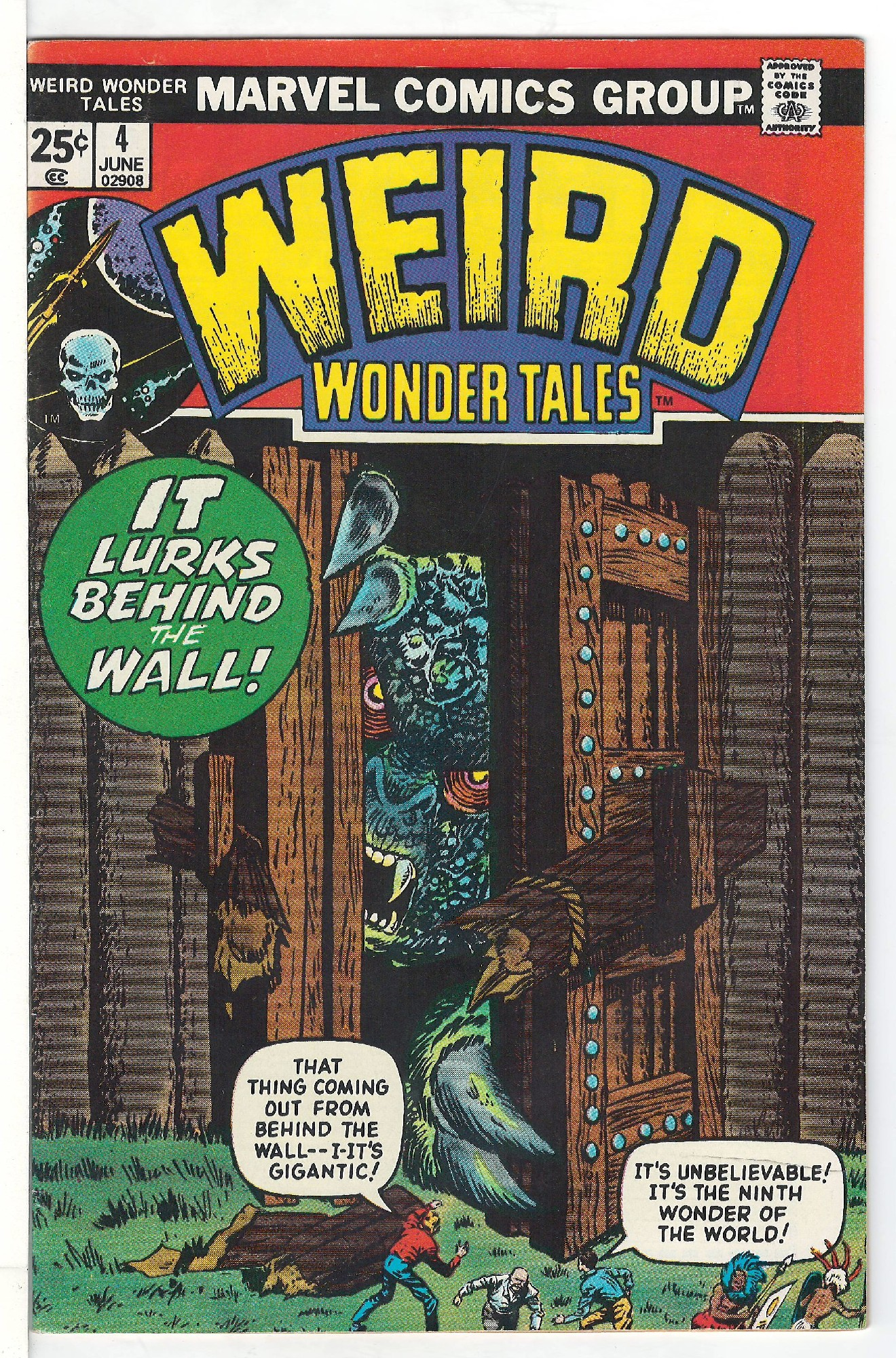 Cover of Weird Wonder Tales (Vol 1) #4. One of 250,000 Vintage American Comics on sale from Krypton!