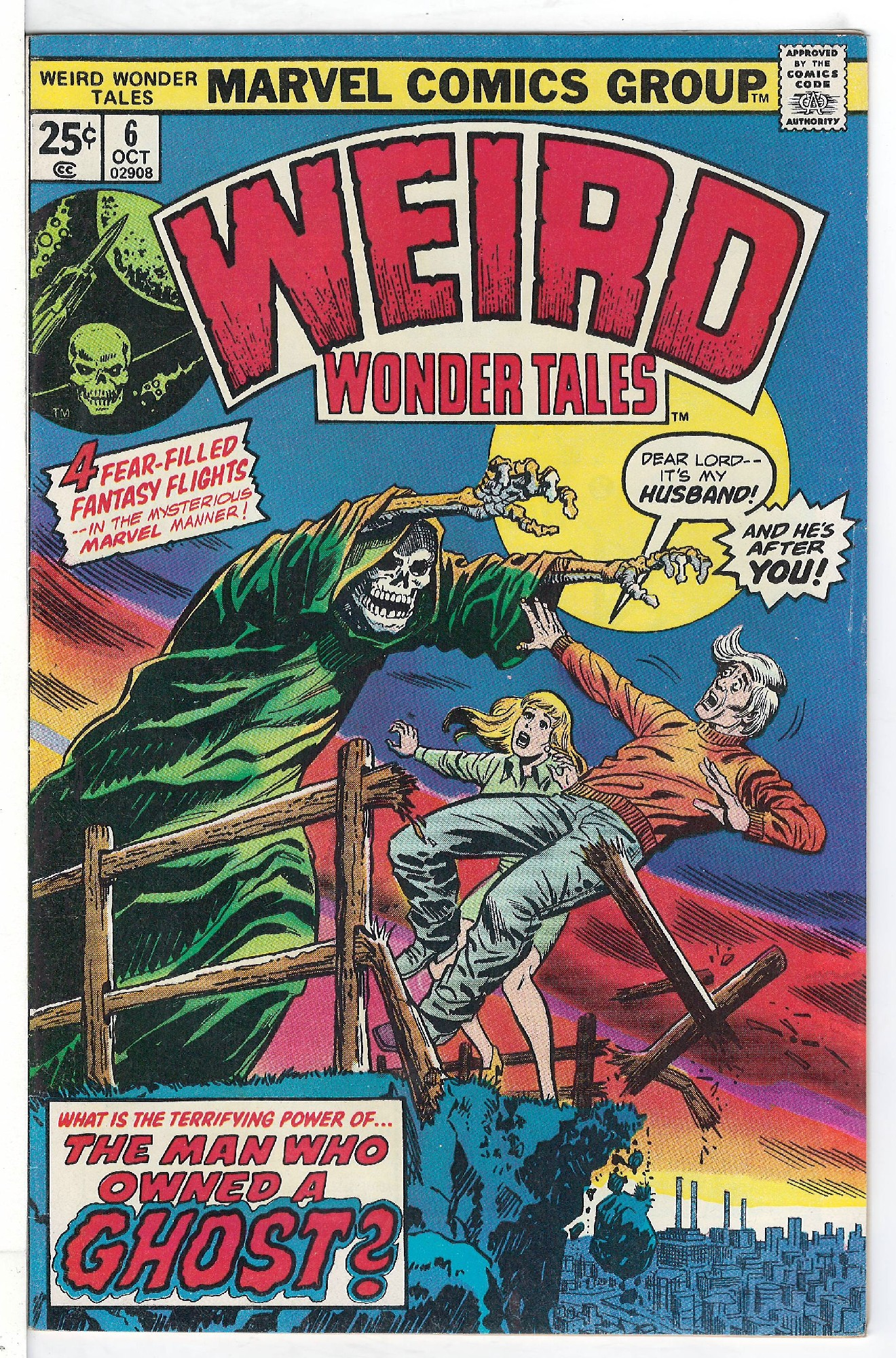 Cover of Weird Wonder Tales (Vol 1) #6. One of 250,000 Vintage American Comics on sale from Krypton!