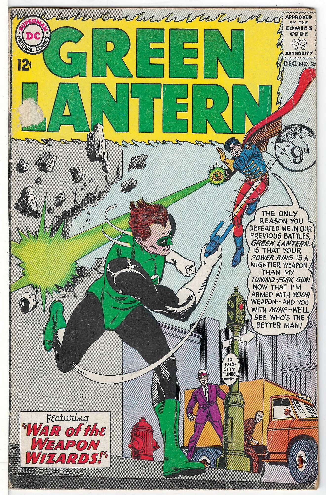 Cover of Green Lantern (Vol 2) #25. One of 250,000 Vintage American Comics on sale from Krypton!