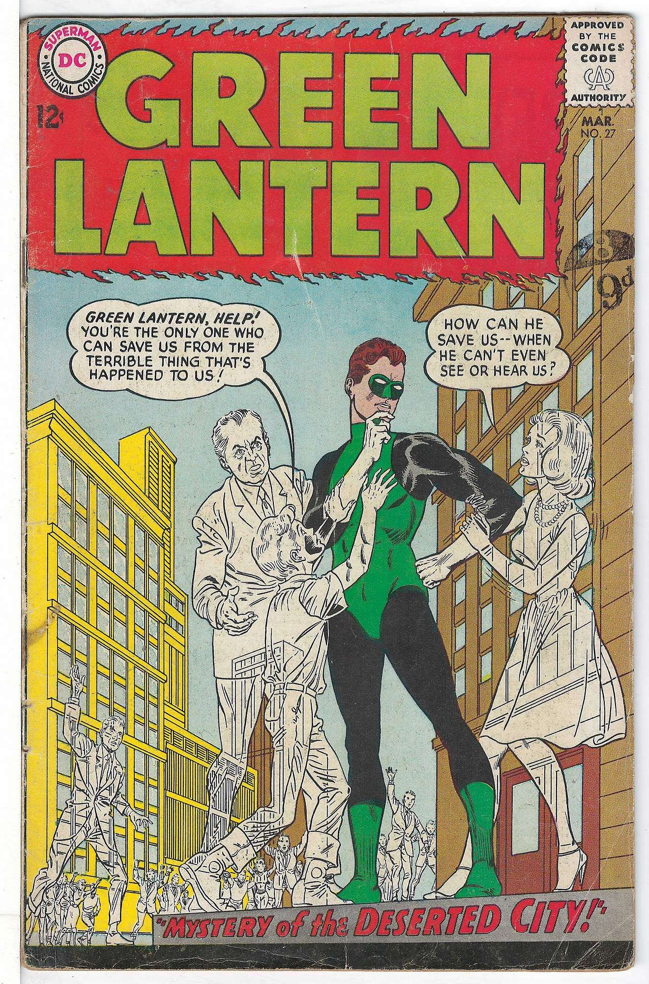 Cover of Green Lantern (Vol 2) #27. One of 250,000 Vintage American Comics on sale from Krypton!