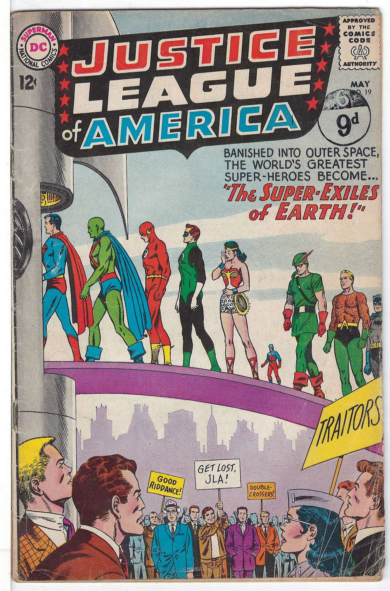 Cover of Justice League of America (Vol 1) #19. One of 250,000 Vintage American Comics on sale from Krypton!