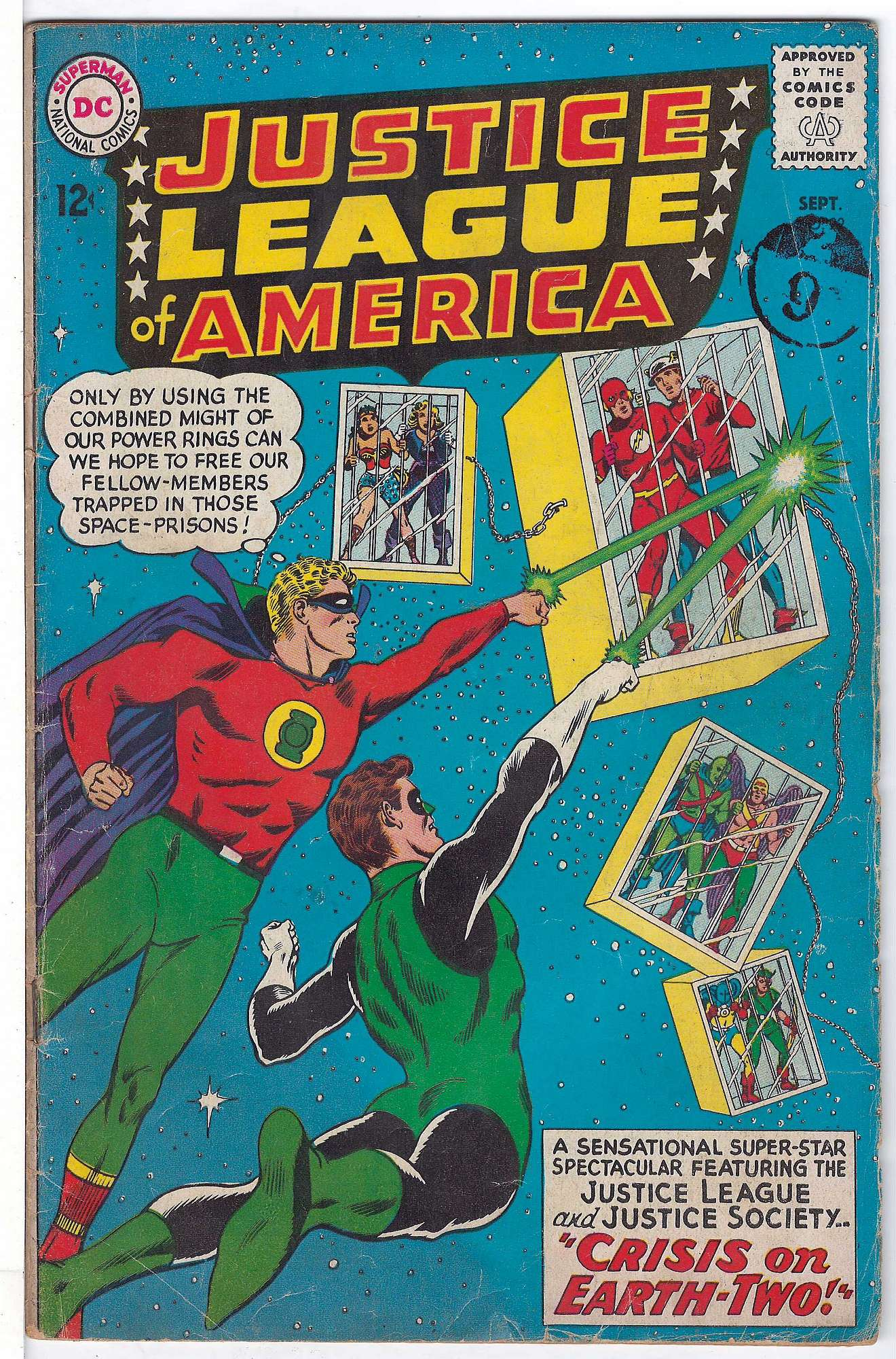 Cover of Justice League of America (Vol 1) #22. One of 250,000 Vintage American Comics on sale from Krypton!