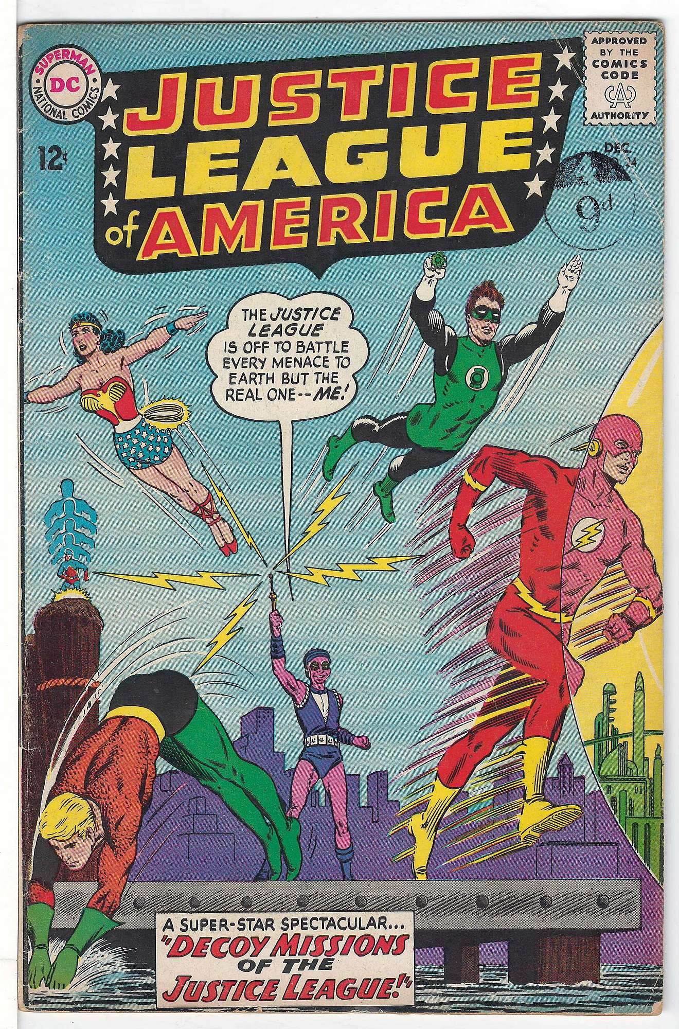 Cover of Justice League of America (Vol 1) #24. One of 250,000 Vintage American Comics on sale from Krypton!