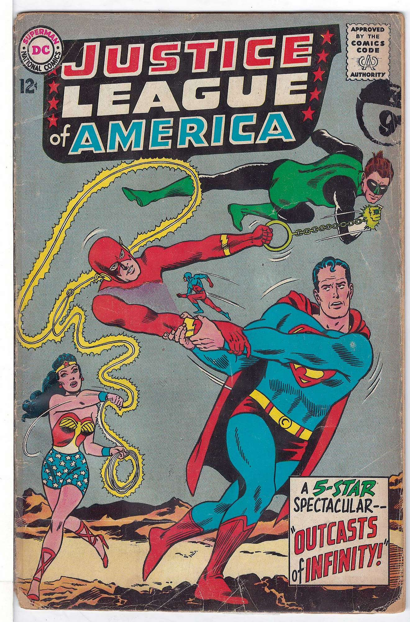 Cover of Justice League of America (Vol 1) #25. One of 250,000 Vintage American Comics on sale from Krypton!