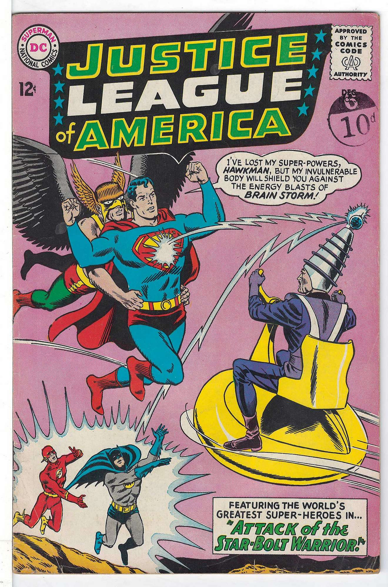 Cover of Justice League of America (Vol 1) #32. One of 250,000 Vintage American Comics on sale from Krypton!