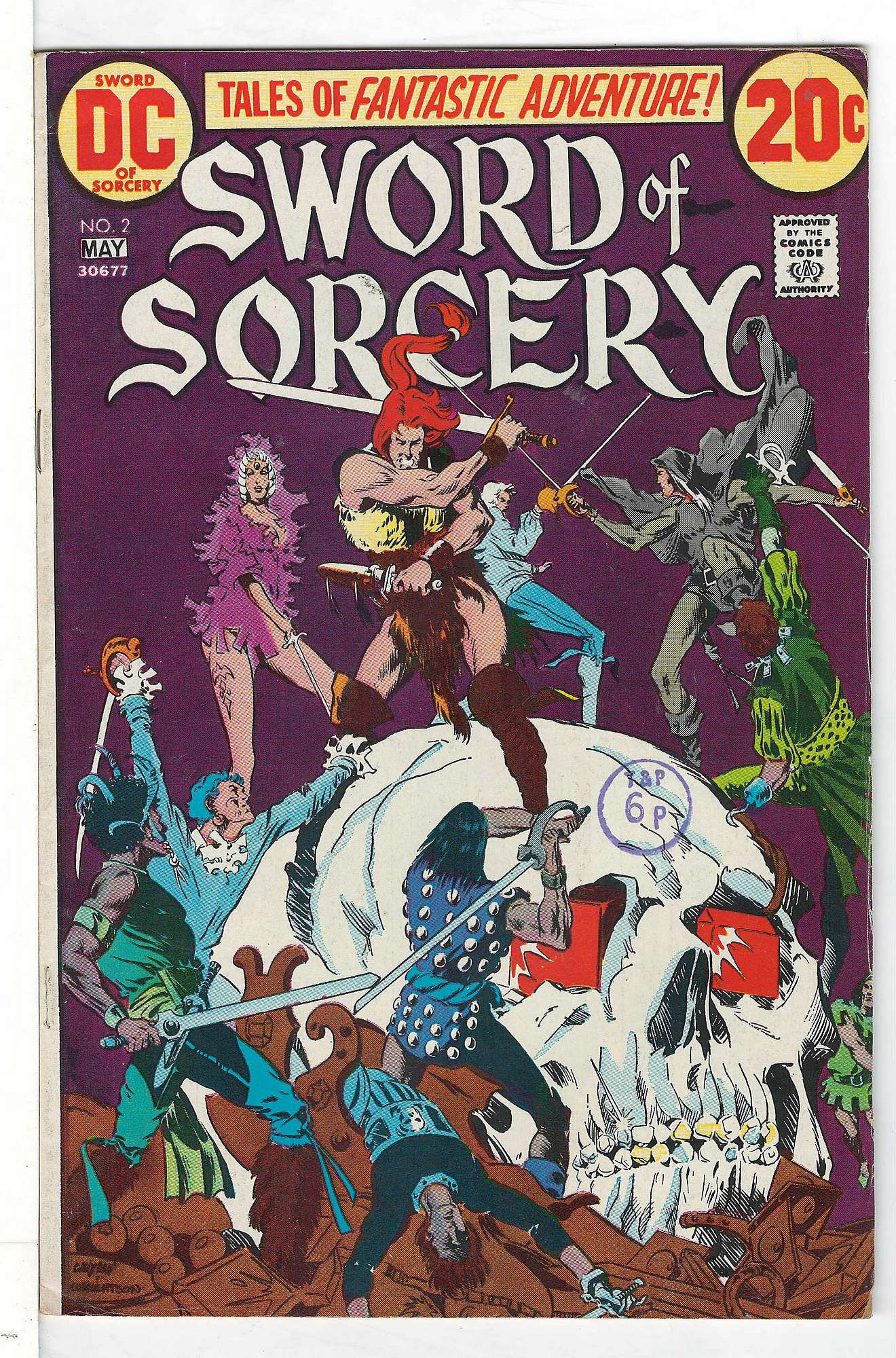 Cover of Sword of Sorcery (Vol 1) #2. One of 250,000 Vintage American Comics on sale from Krypton!