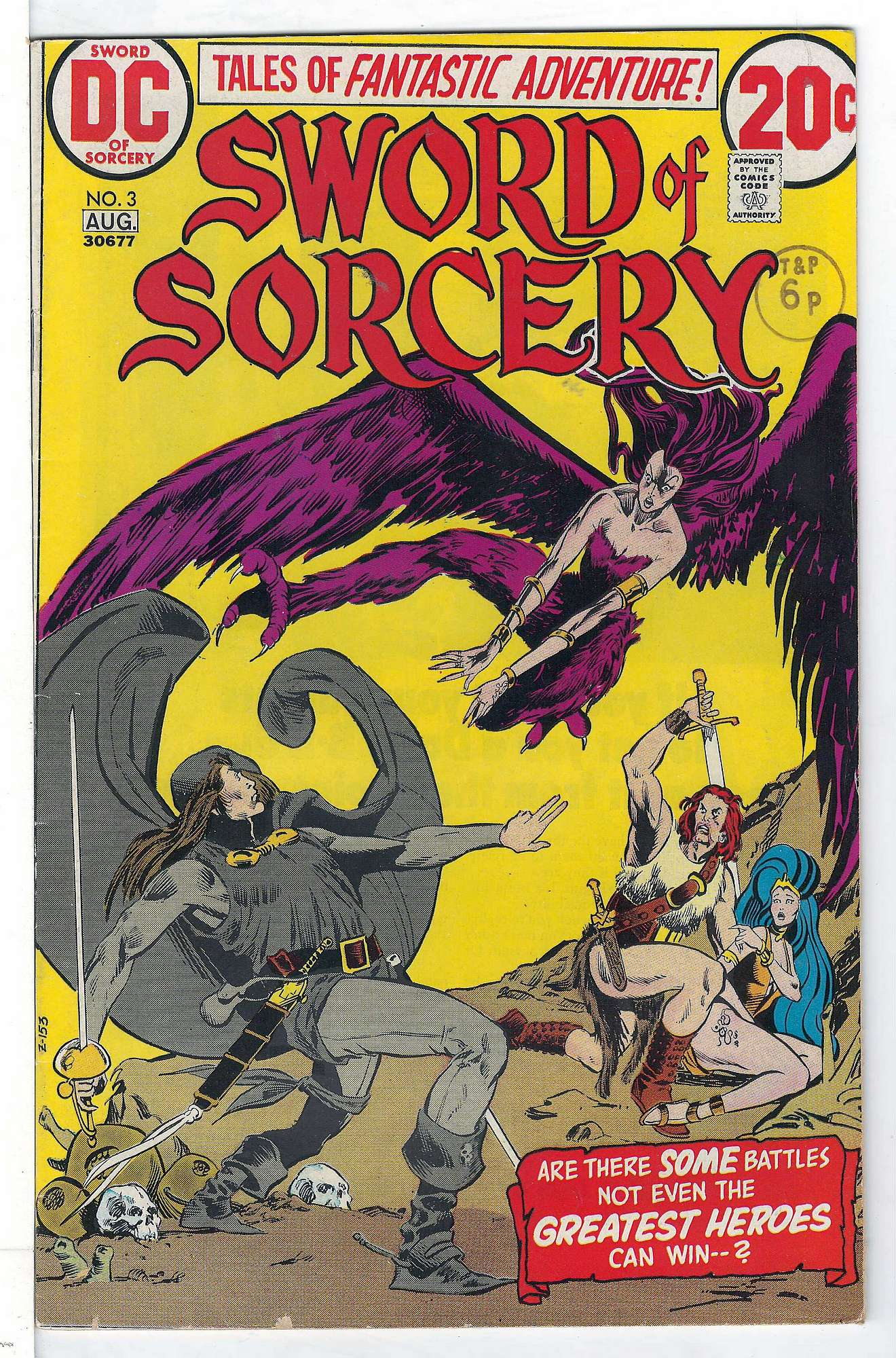 Cover of Sword of Sorcery (Vol 1) #3. One of 250,000 Vintage American Comics on sale from Krypton!