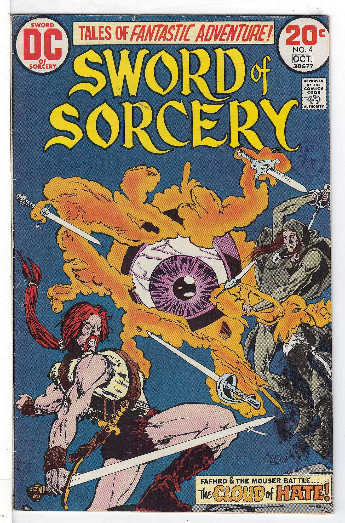 Cover of Sword of Sorcery (Vol 1) #4. One of 250,000 Vintage American Comics on sale from Krypton!
