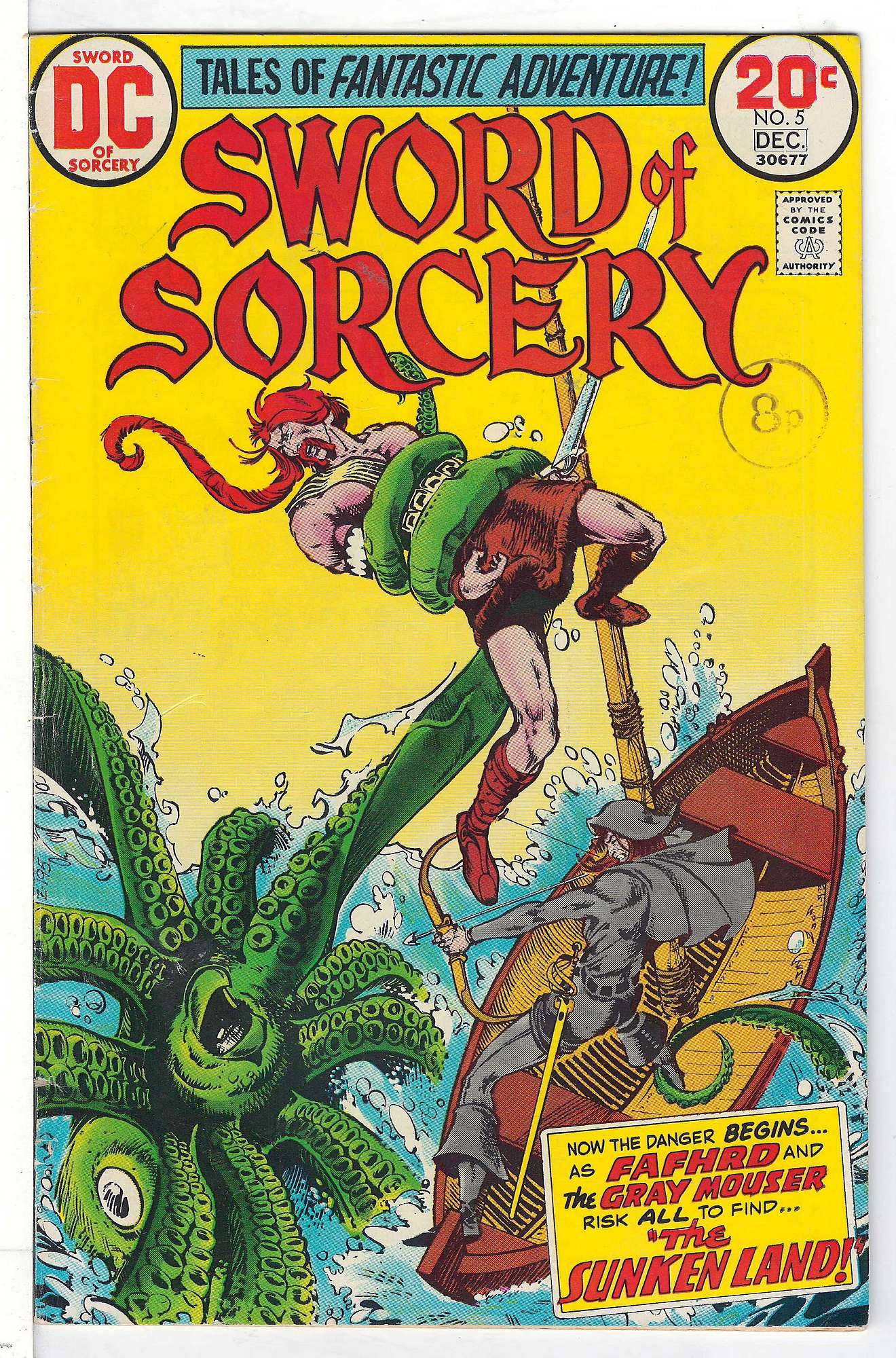 Cover of Sword of Sorcery (Vol 1) #5. One of 250,000 Vintage American Comics on sale from Krypton!