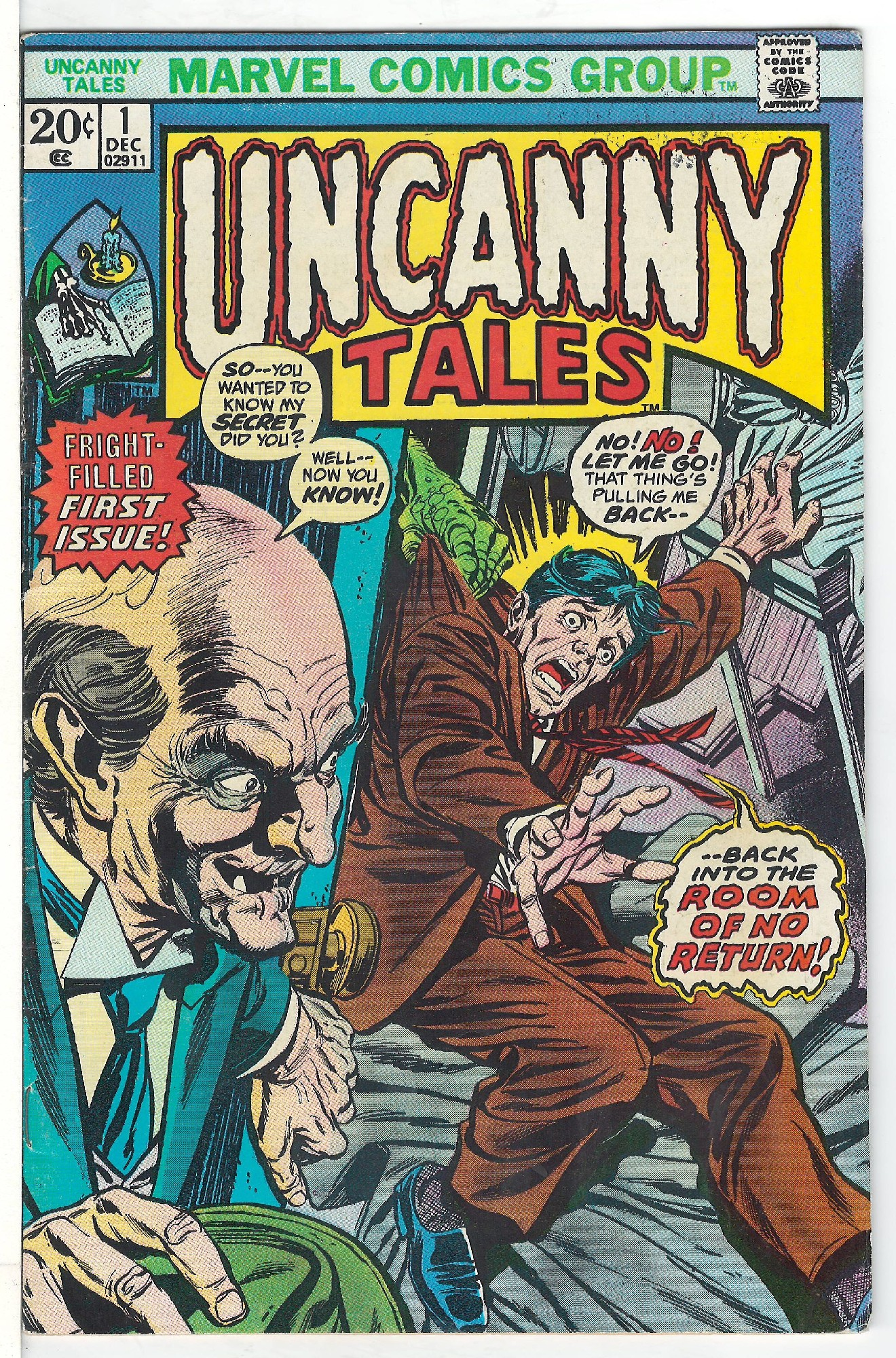 Cover of Uncanny Tales (Vol 2) #1. One of 250,000 Vintage American Comics on sale from Krypton!