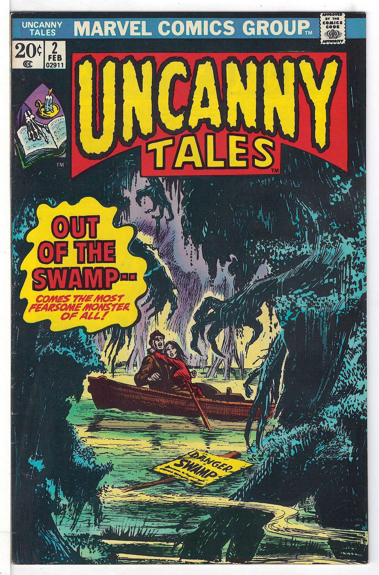 Cover of Uncanny Tales (Vol 2) #2. One of 250,000 Vintage American Comics on sale from Krypton!