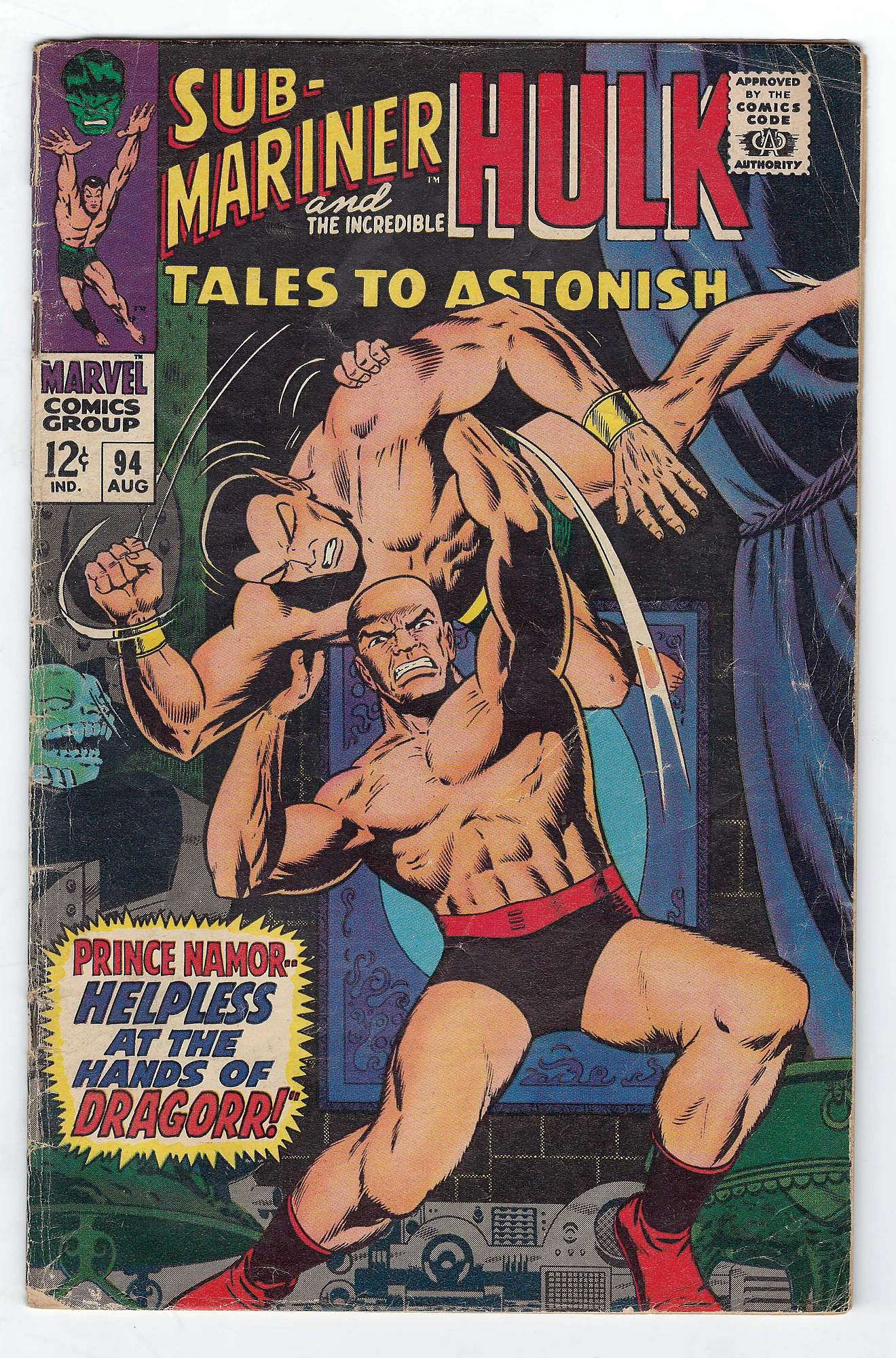 Cover of Tales to Astonish (Vol 1) #94. One of 250,000 Vintage American Comics on sale from Krypton!
