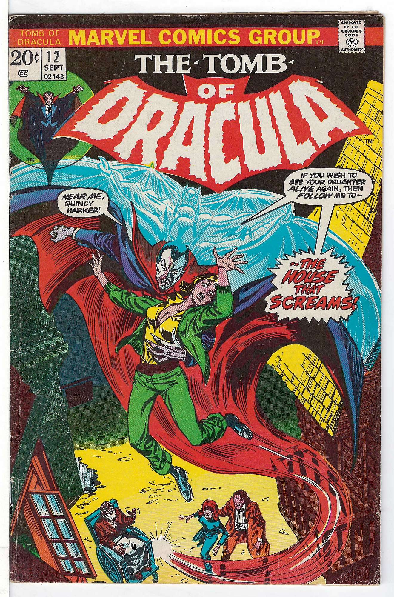 Cover of Tomb of Dracula (Vol 1) #12. One of 250,000 Vintage American Comics on sale from Krypton!