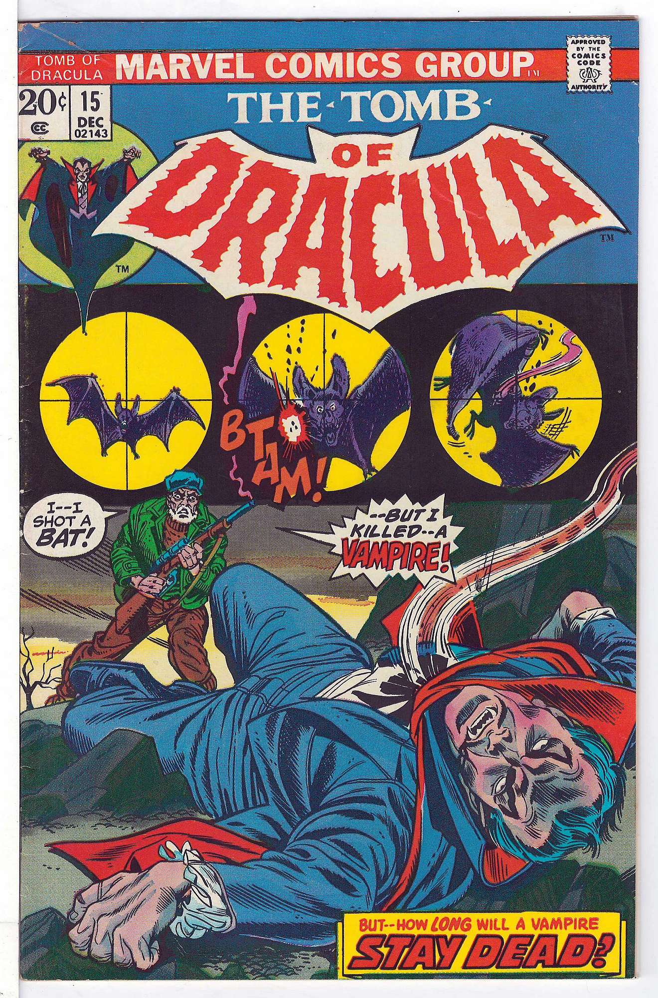 Cover of Tomb of Dracula (Vol 1) #15. One of 250,000 Vintage American Comics on sale from Krypton!