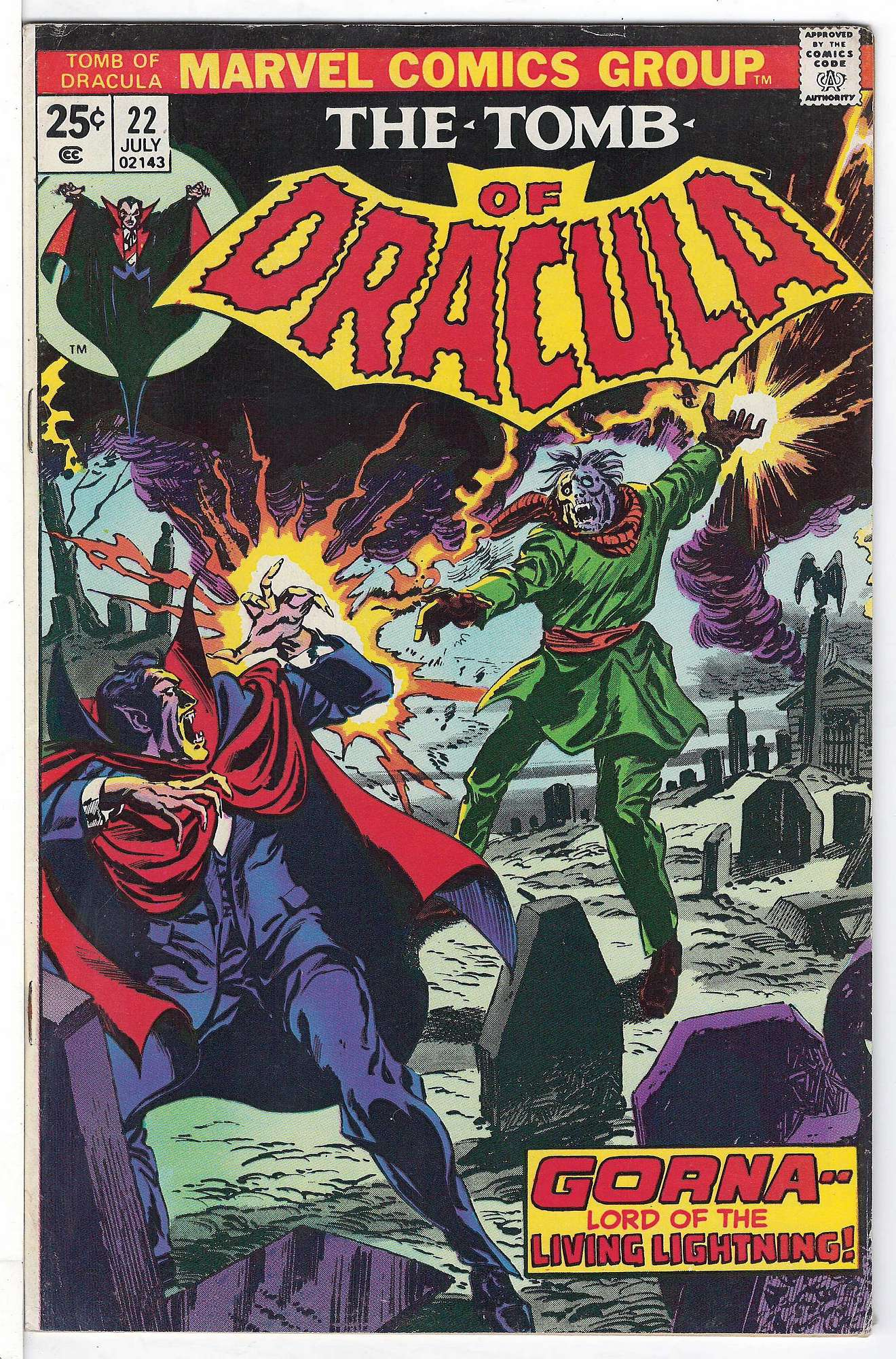 Cover of Tomb of Dracula (Vol 1) #22. One of 250,000 Vintage American Comics on sale from Krypton!