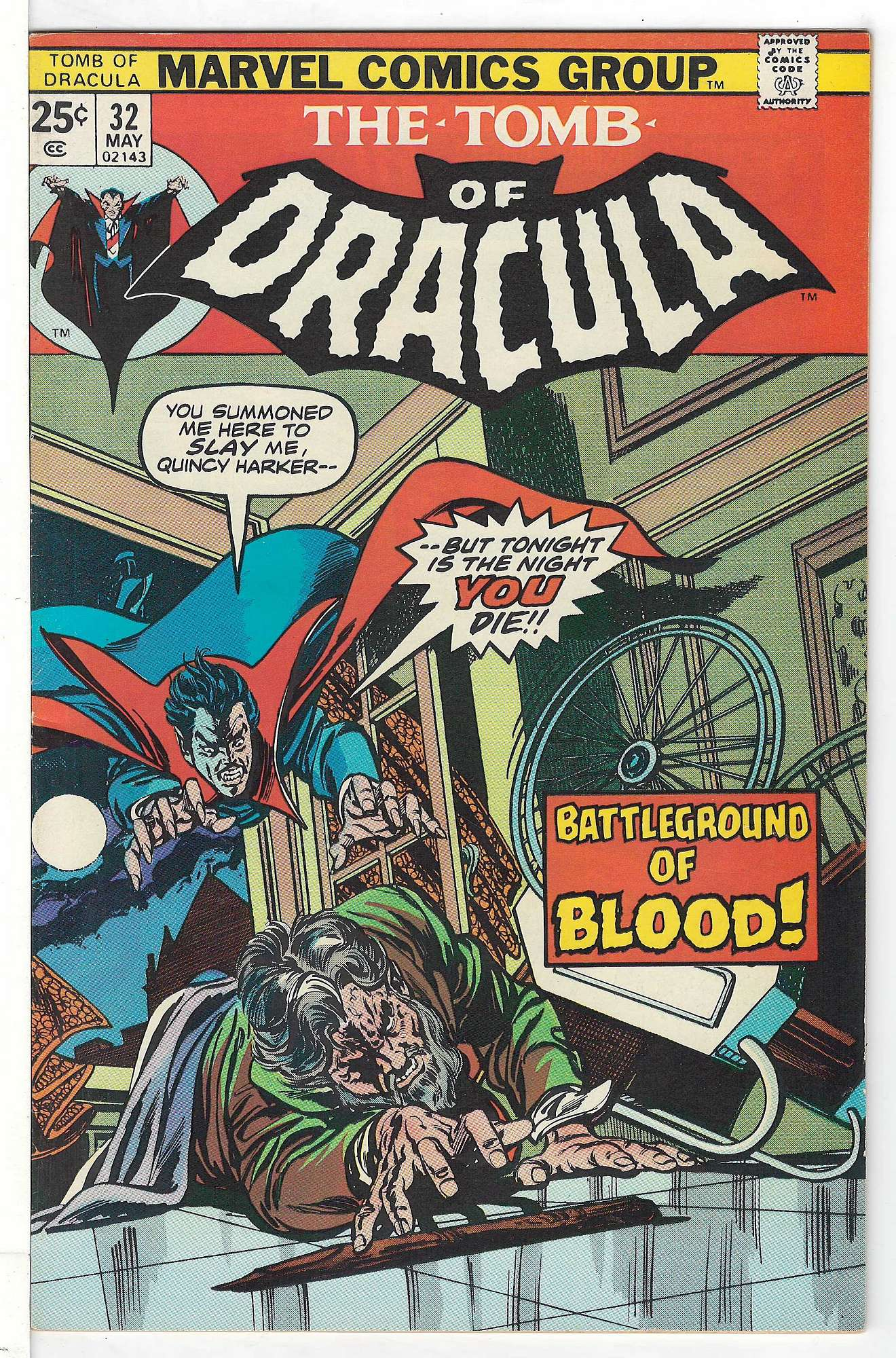 Cover of Tomb of Dracula (Vol 1) #32. One of 250,000 Vintage American Comics on sale from Krypton!