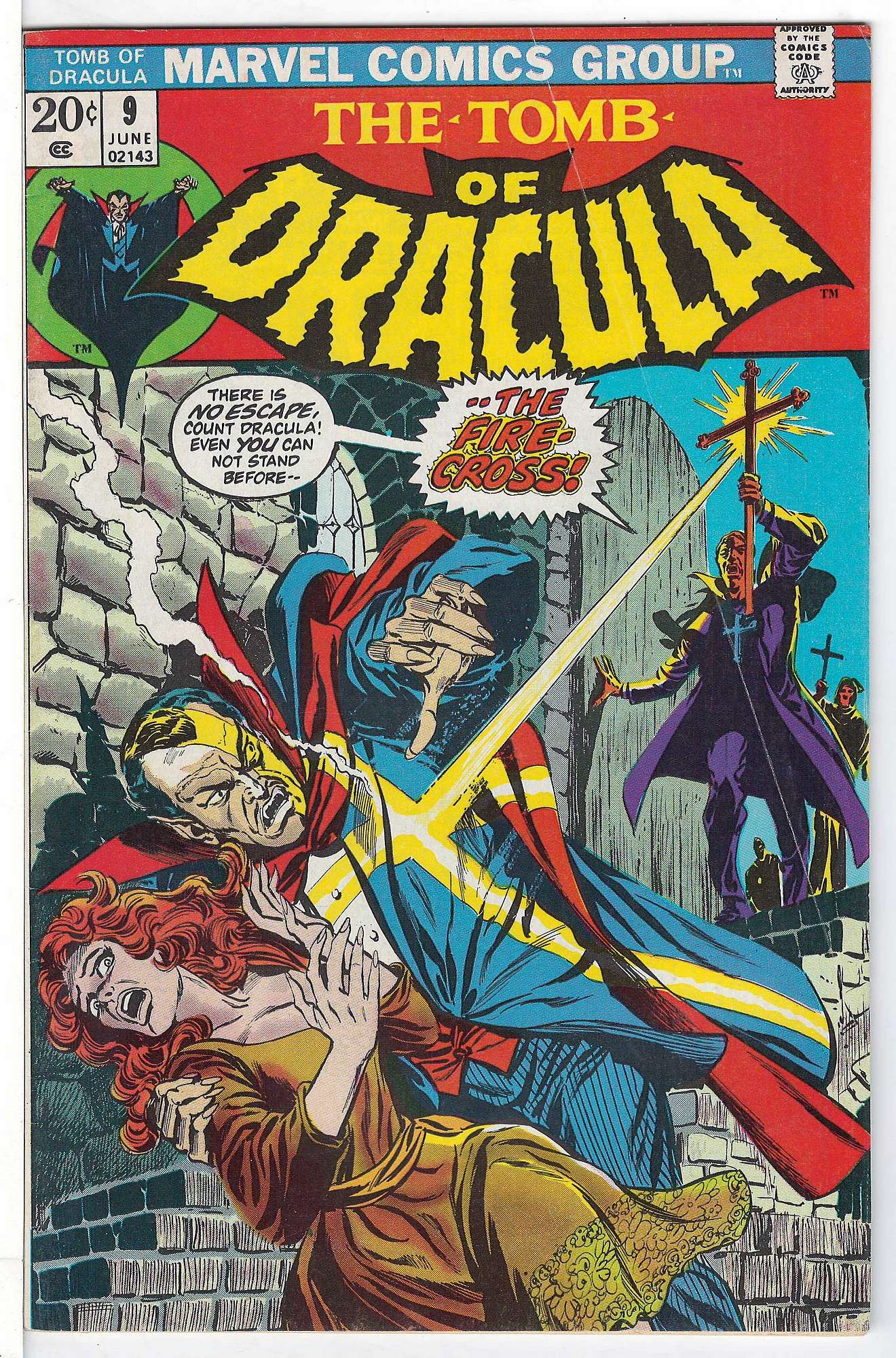 Cover of Tomb of Dracula (Vol 1) #9. One of 250,000 Vintage American Comics on sale from Krypton!