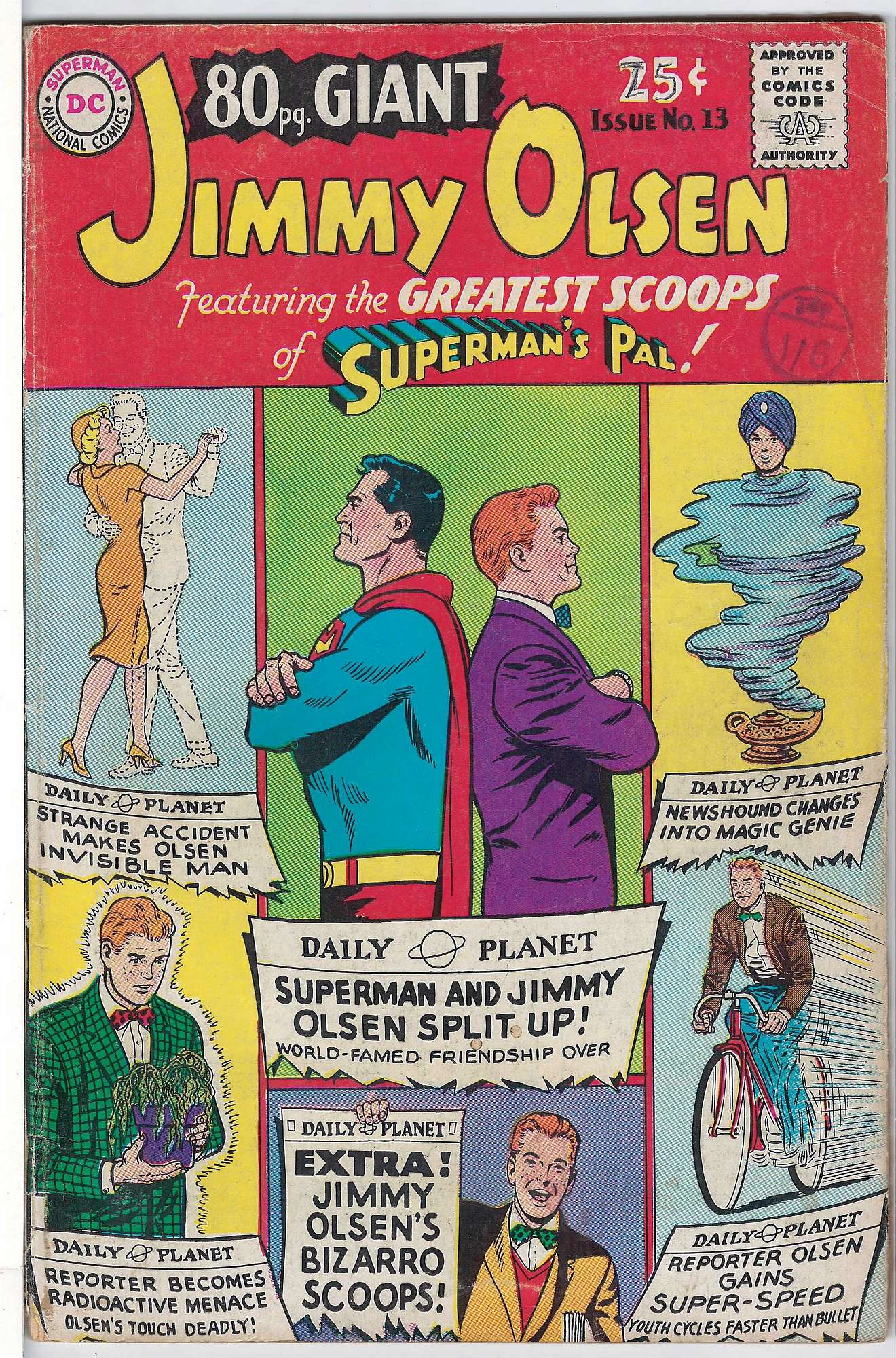Cover of Eighty Page Giant (Vol 1) #13. One of 250,000 Vintage American Comics on sale from Krypton!