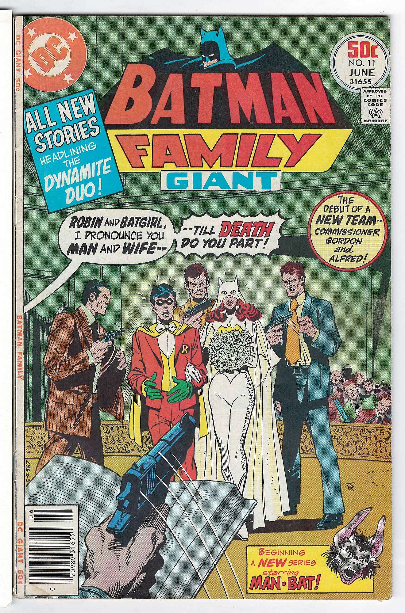 Cover of Batman Family (Vol 1) #11. One of 250,000 Vintage American Comics on sale from Krypton!