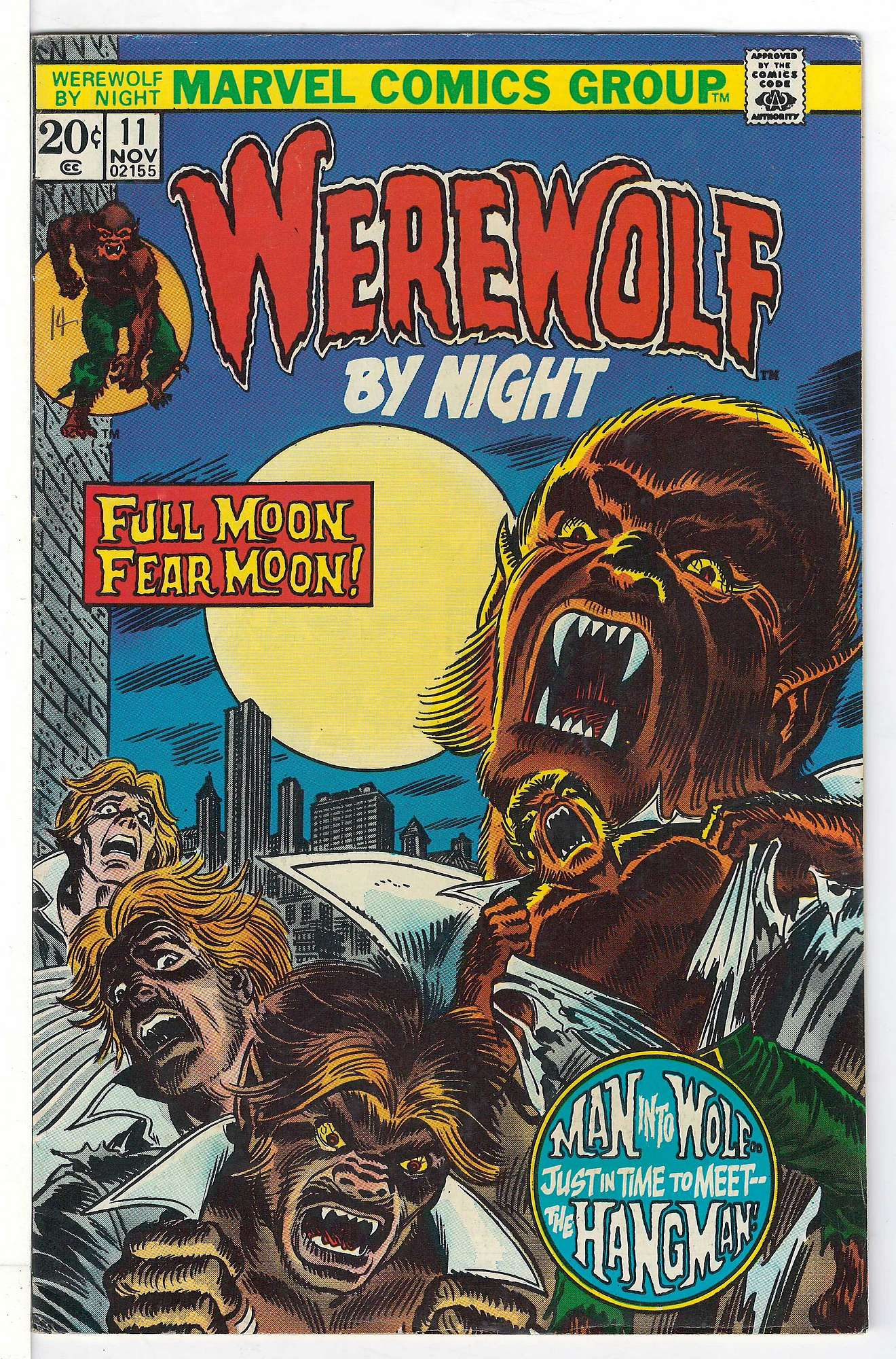 Cover of Werewolf by Night (Vol 1) #11. One of 250,000 Vintage American Comics on sale from Krypton!
