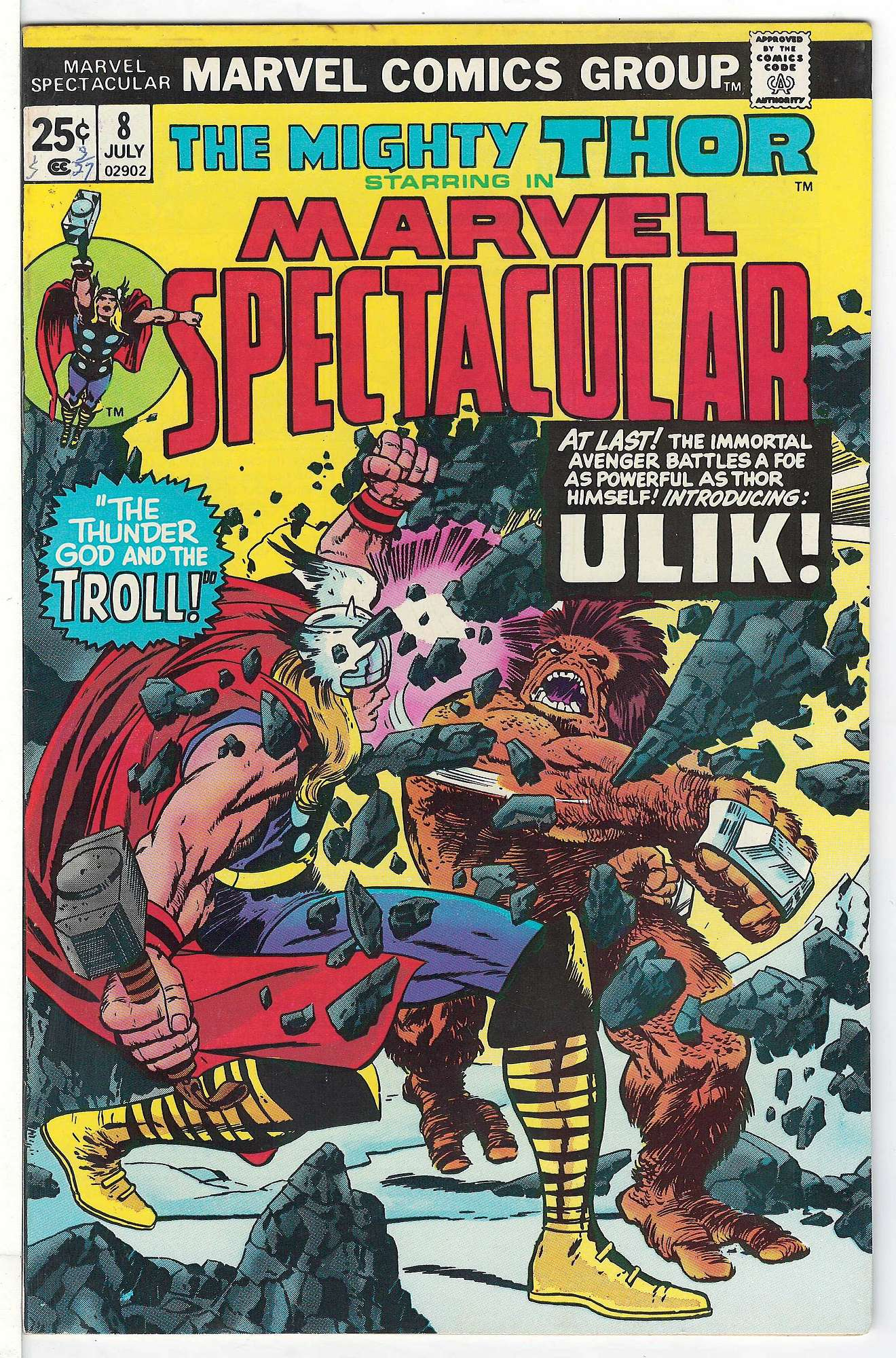 Cover of Marvel Spectacular (Vol 1) #8. One of 250,000 Vintage American Comics on sale from Krypton!