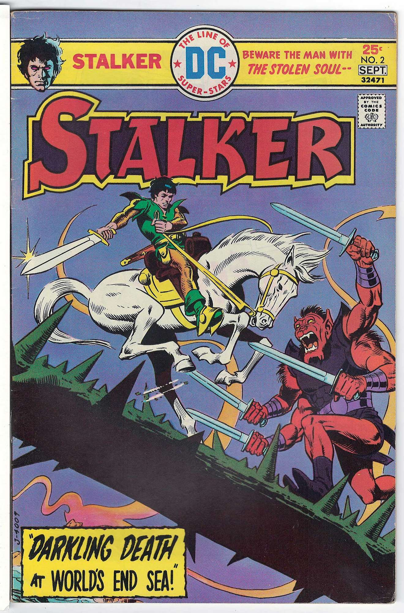 Cover of Stalker (Vol 1) #2. One of 250,000 Vintage American Comics on sale from Krypton!