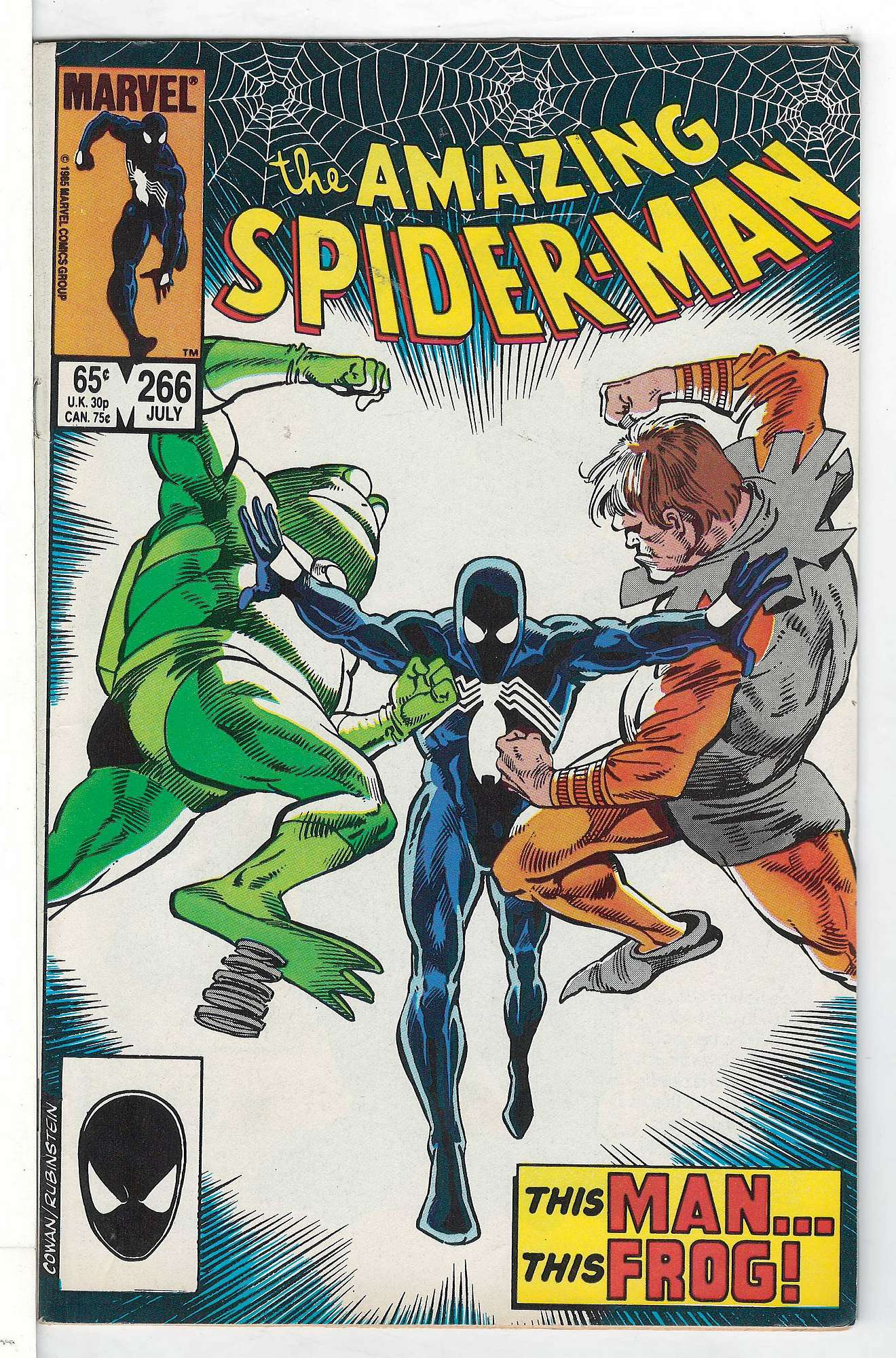 Cover of Amazing Spider-Man (Vol 1) #266. One of 250,000 Vintage American Comics on sale from Krypton!