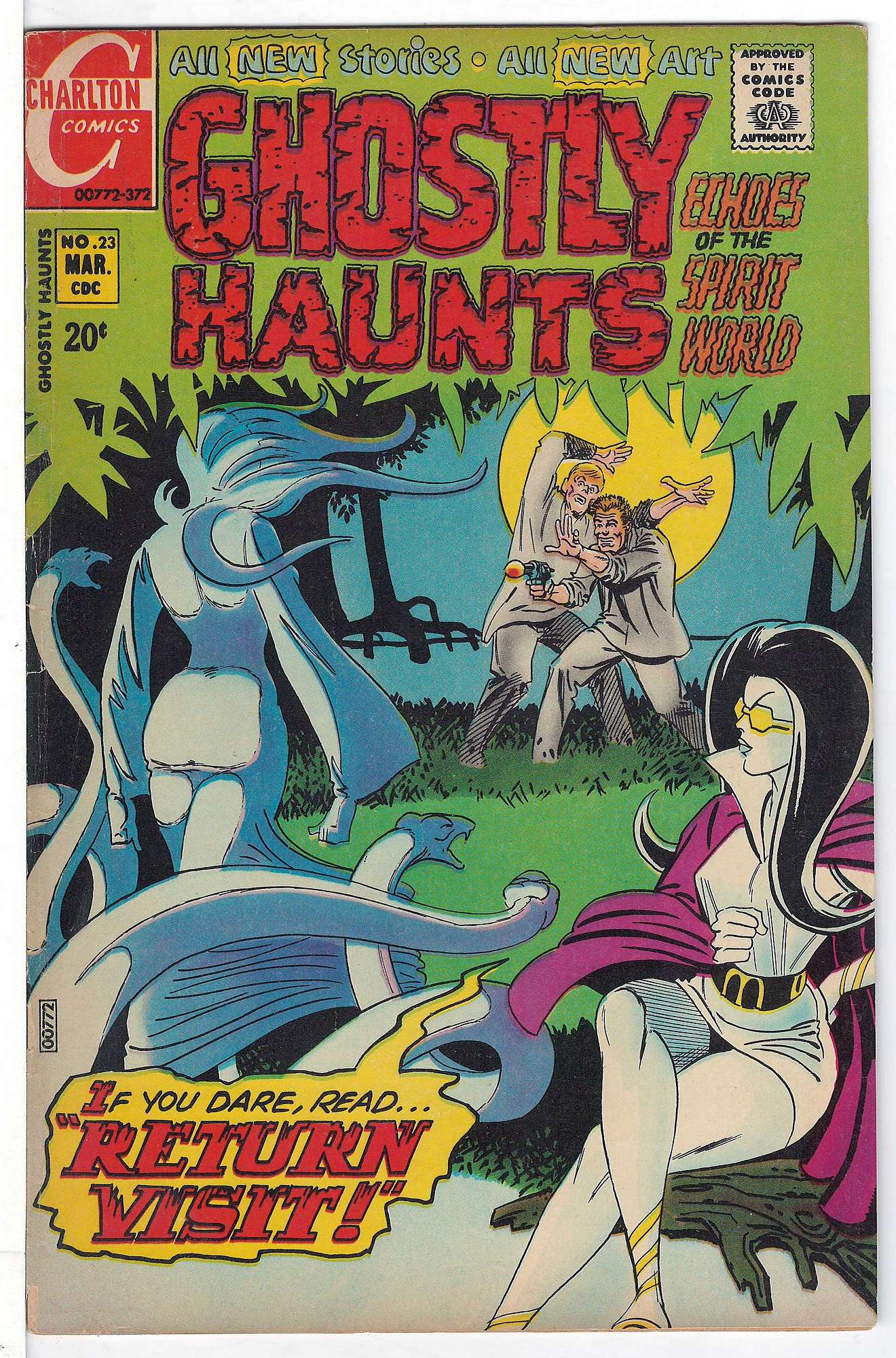 Cover of Ghostly Haunts (Vol 1) #23. One of 250,000 Vintage American Comics on sale from Krypton!