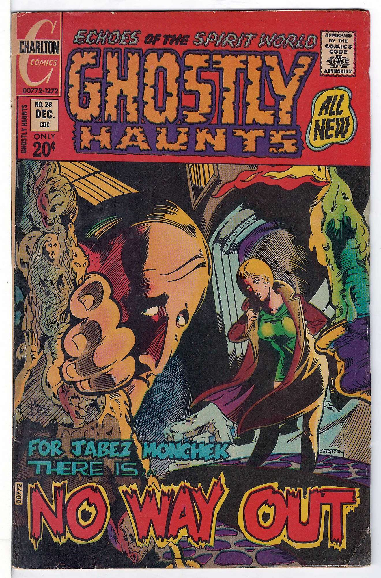 Cover of Ghostly Haunts (Vol 1) #28. One of 250,000 Vintage American Comics on sale from Krypton!