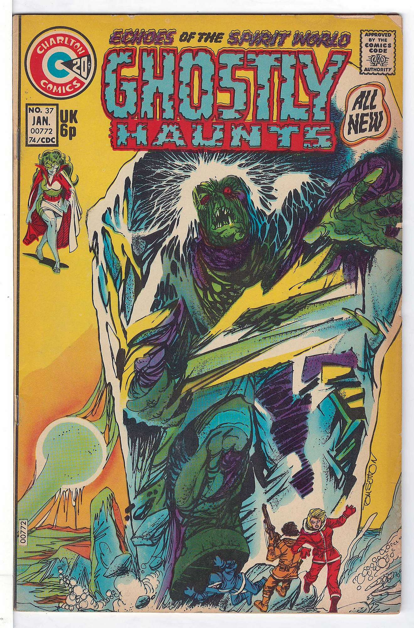 Cover of Ghostly Haunts (Vol 1) #37. One of 250,000 Vintage American Comics on sale from Krypton!