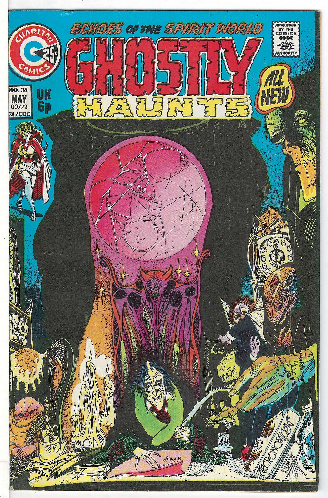 Cover of Ghostly Haunts (Vol 1) #38. One of 250,000 Vintage American Comics on sale from Krypton!