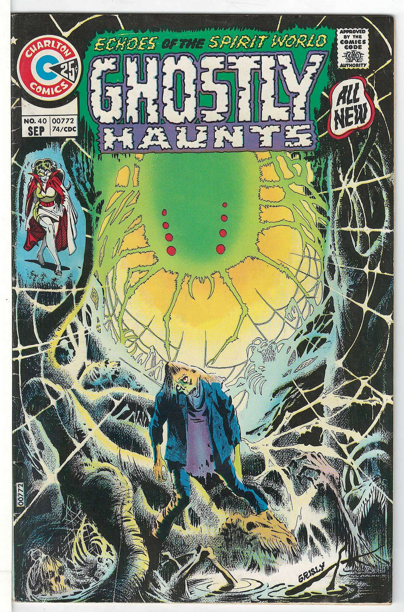 Cover of Ghostly Haunts (Vol 1) #40. One of 250,000 Vintage American Comics on sale from Krypton!