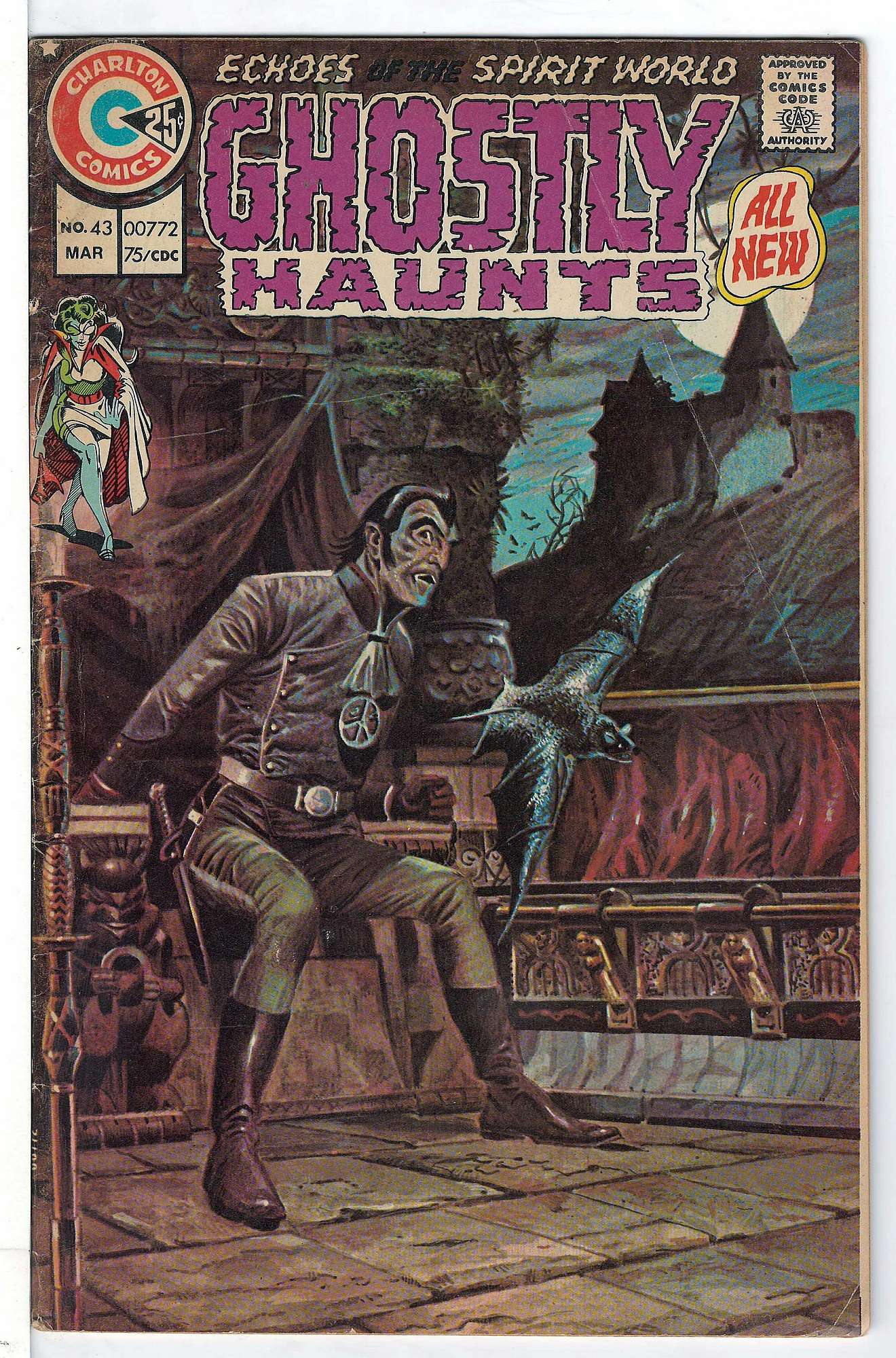 Cover of Ghostly Haunts (Vol 1) #43. One of 250,000 Vintage American Comics on sale from Krypton!