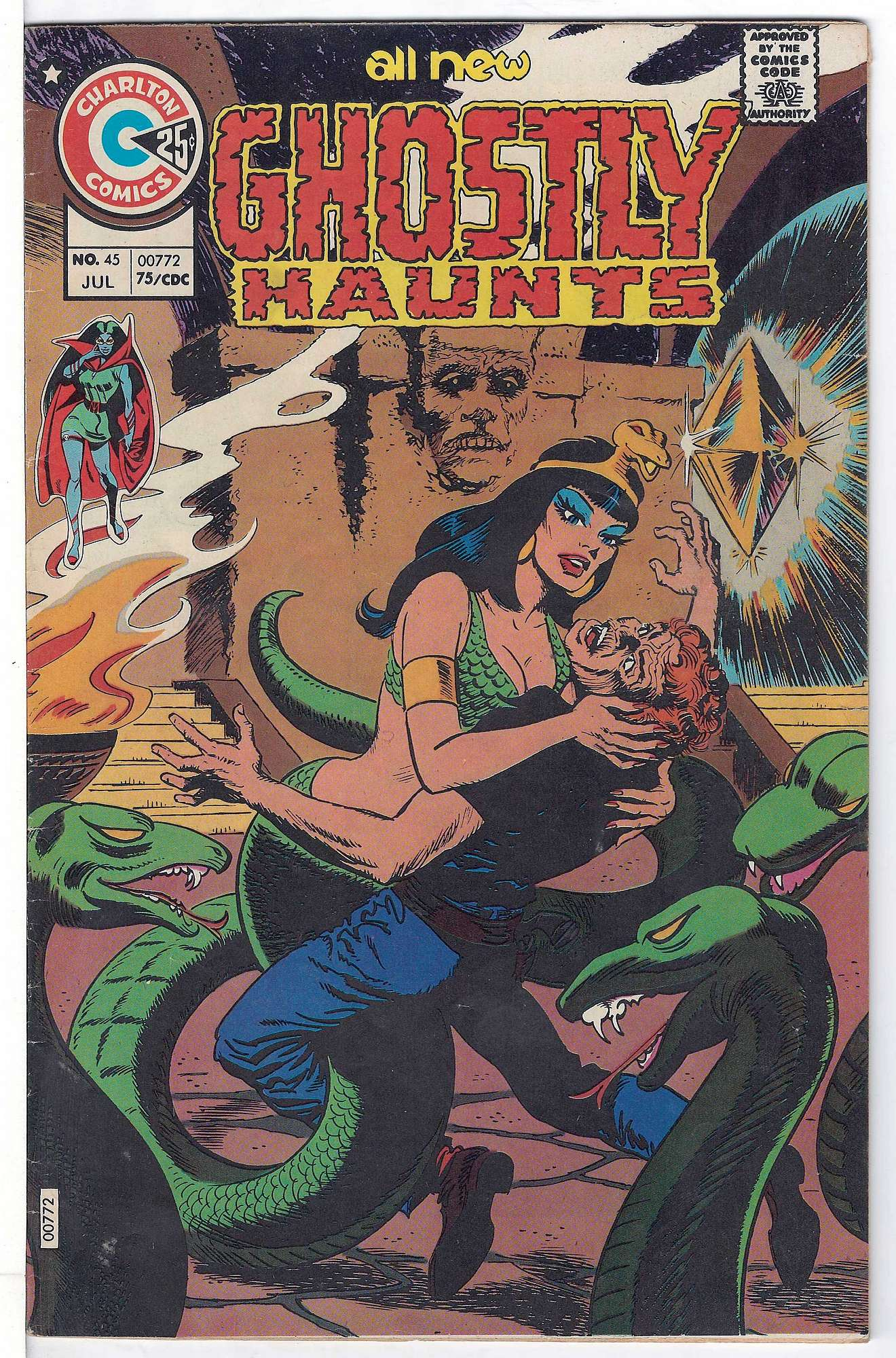 Cover of Ghostly Haunts (Vol 1) #45. One of 250,000 Vintage American Comics on sale from Krypton!