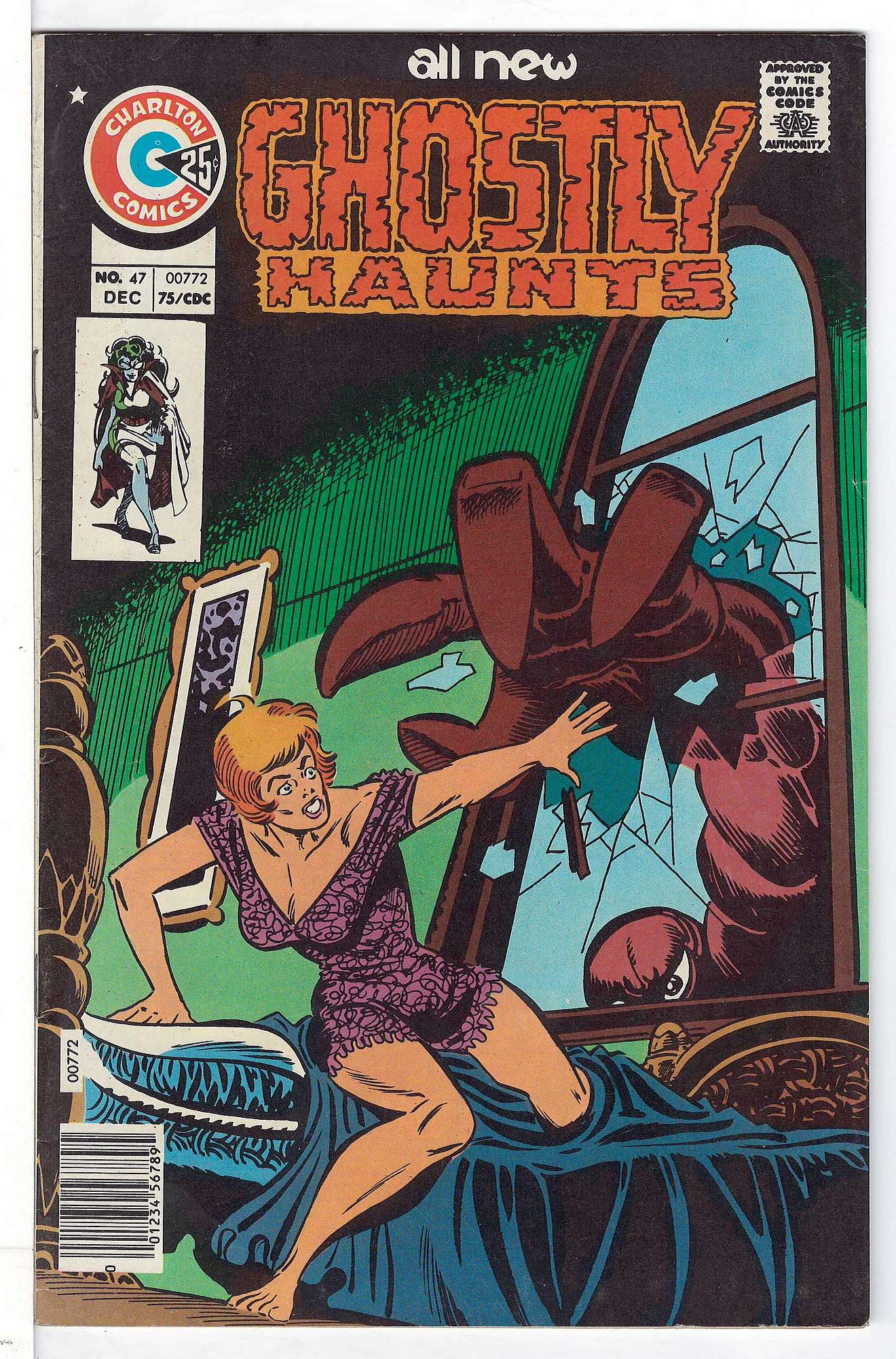 Cover of Ghostly Haunts (Vol 1) #47. One of 250,000 Vintage American Comics on sale from Krypton!