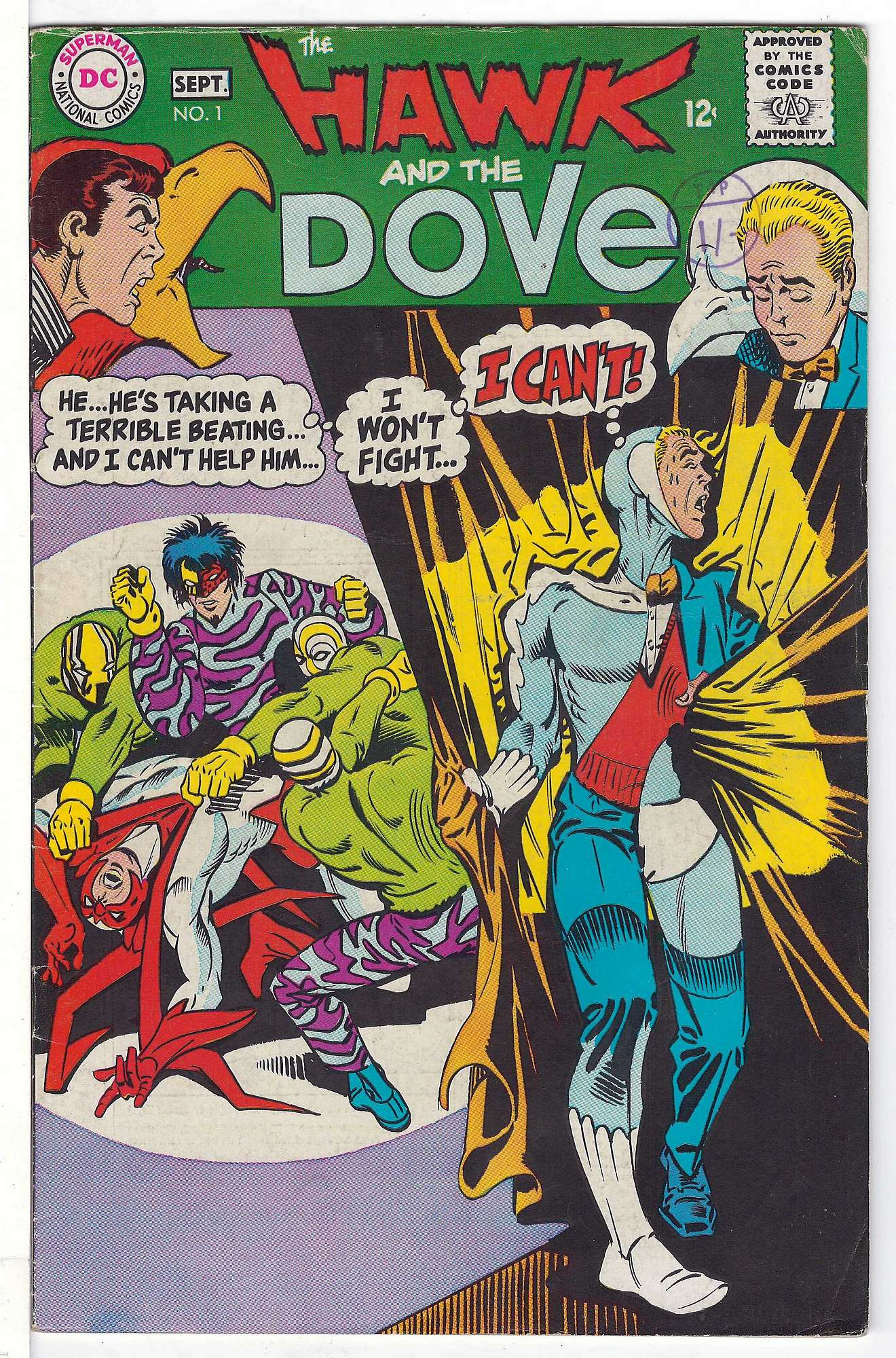 Cover of Hawk & Dove (Vol 1) The #1. One of 250,000 Vintage American Comics on sale from Krypton!