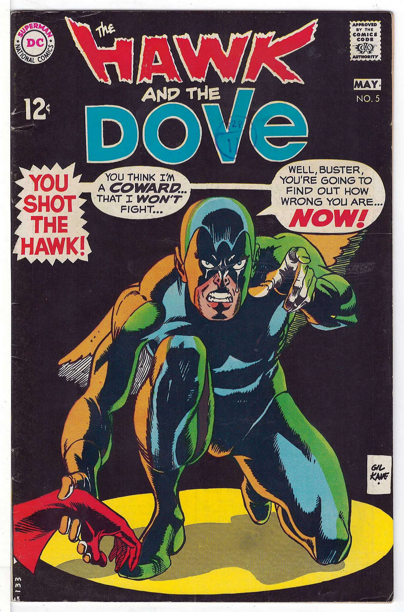Cover of Hawk & Dove (Vol 1) The #5. One of 250,000 Vintage American Comics on sale from Krypton!