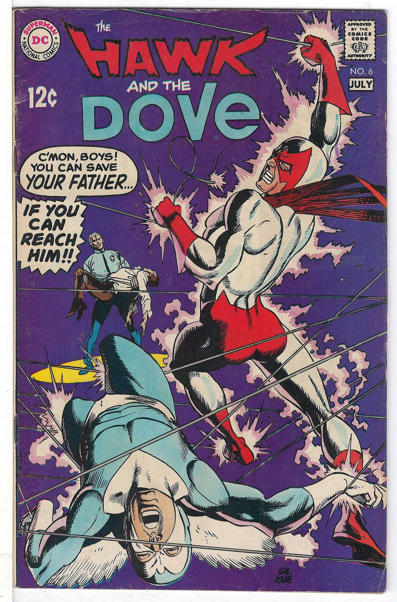 Cover of Hawk & Dove (Vol 1) The #6. One of 250,000 Vintage American Comics on sale from Krypton!