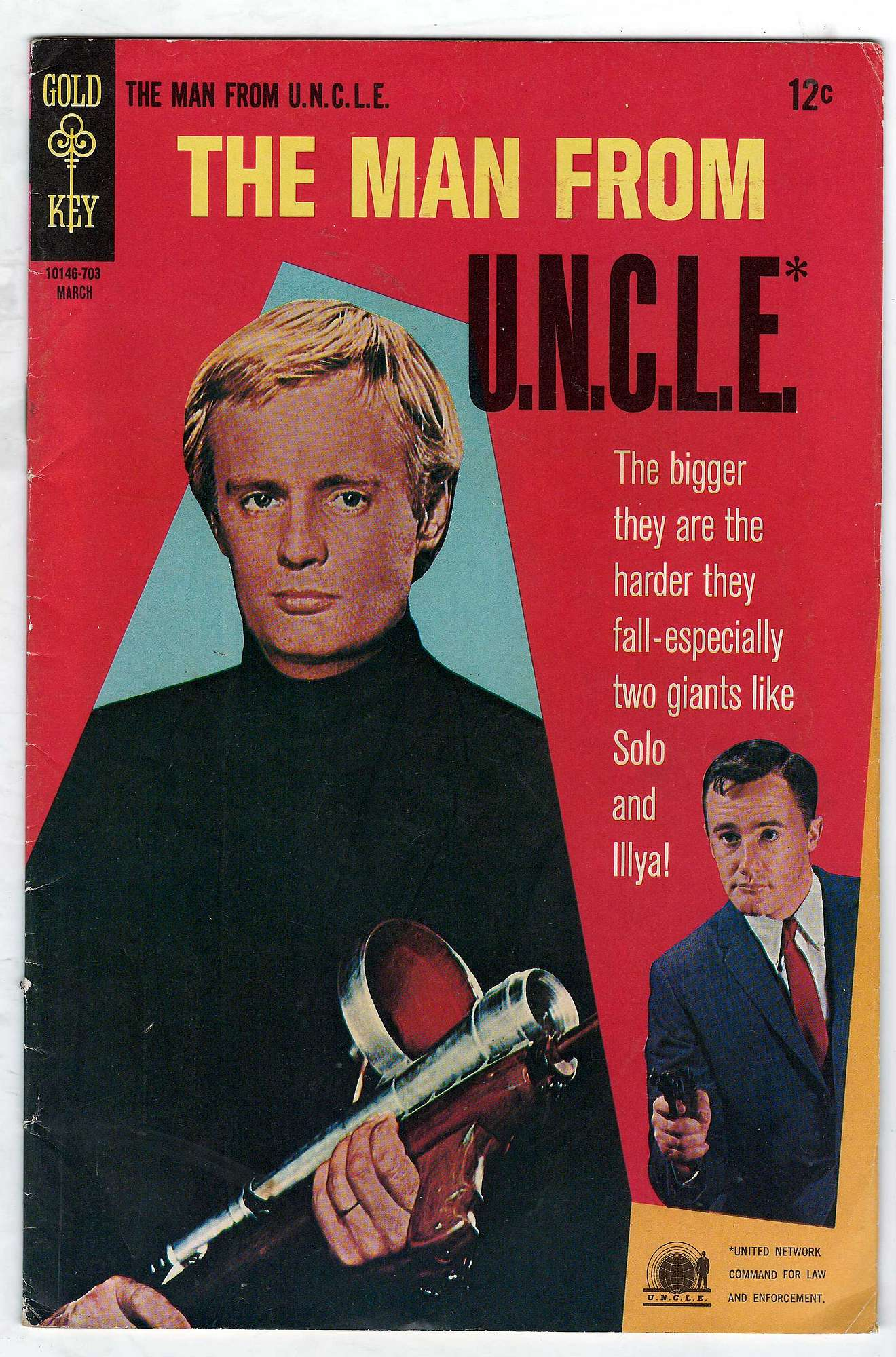 Cover of Man From U.N.C.L.E. (Vol 1) The #11. One of 250,000 Vintage American Comics on sale from Krypton!