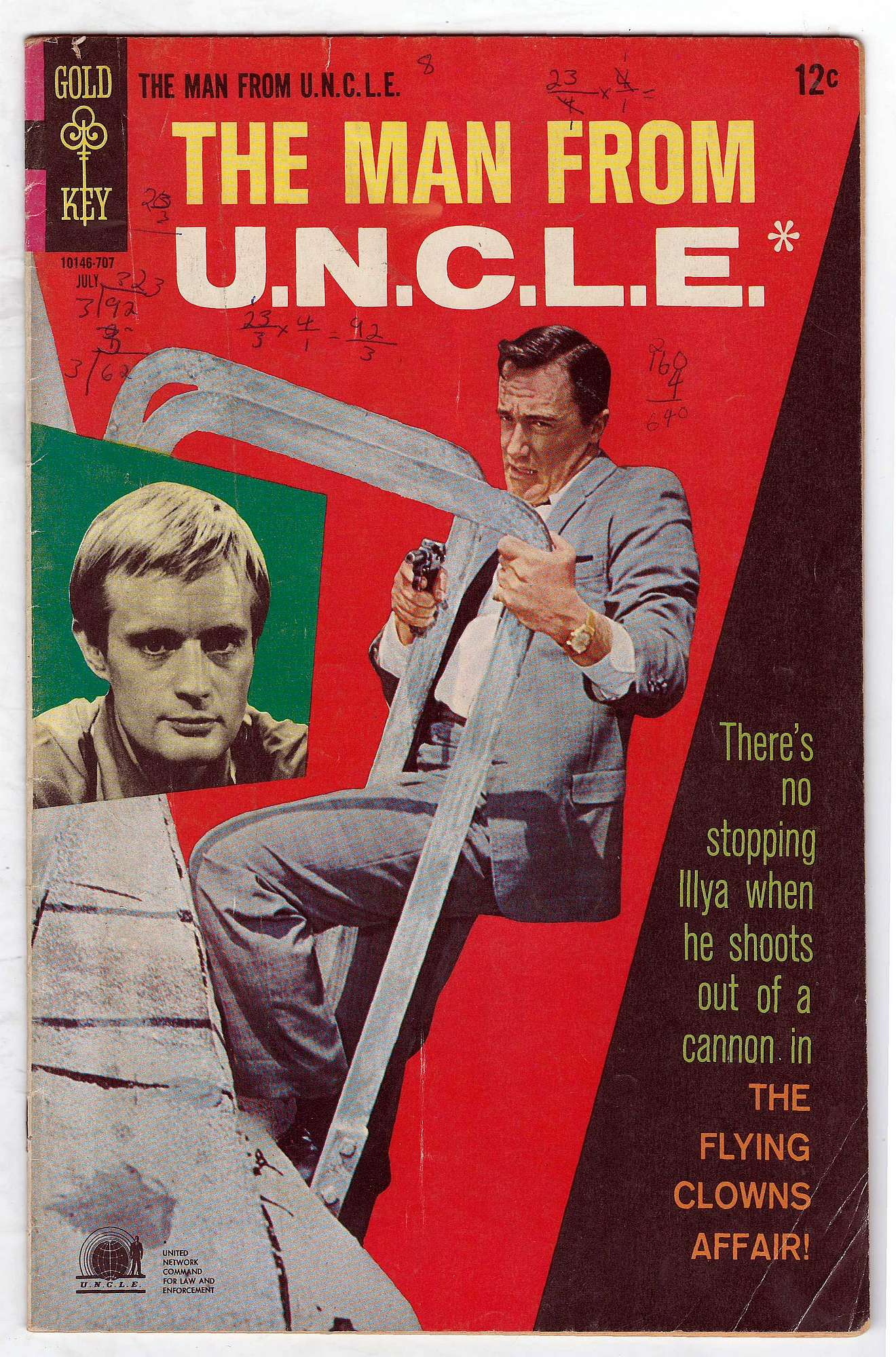 Cover of Man From U.N.C.L.E. (Vol 1) The #13. One of 250,000 Vintage American Comics on sale from Krypton!