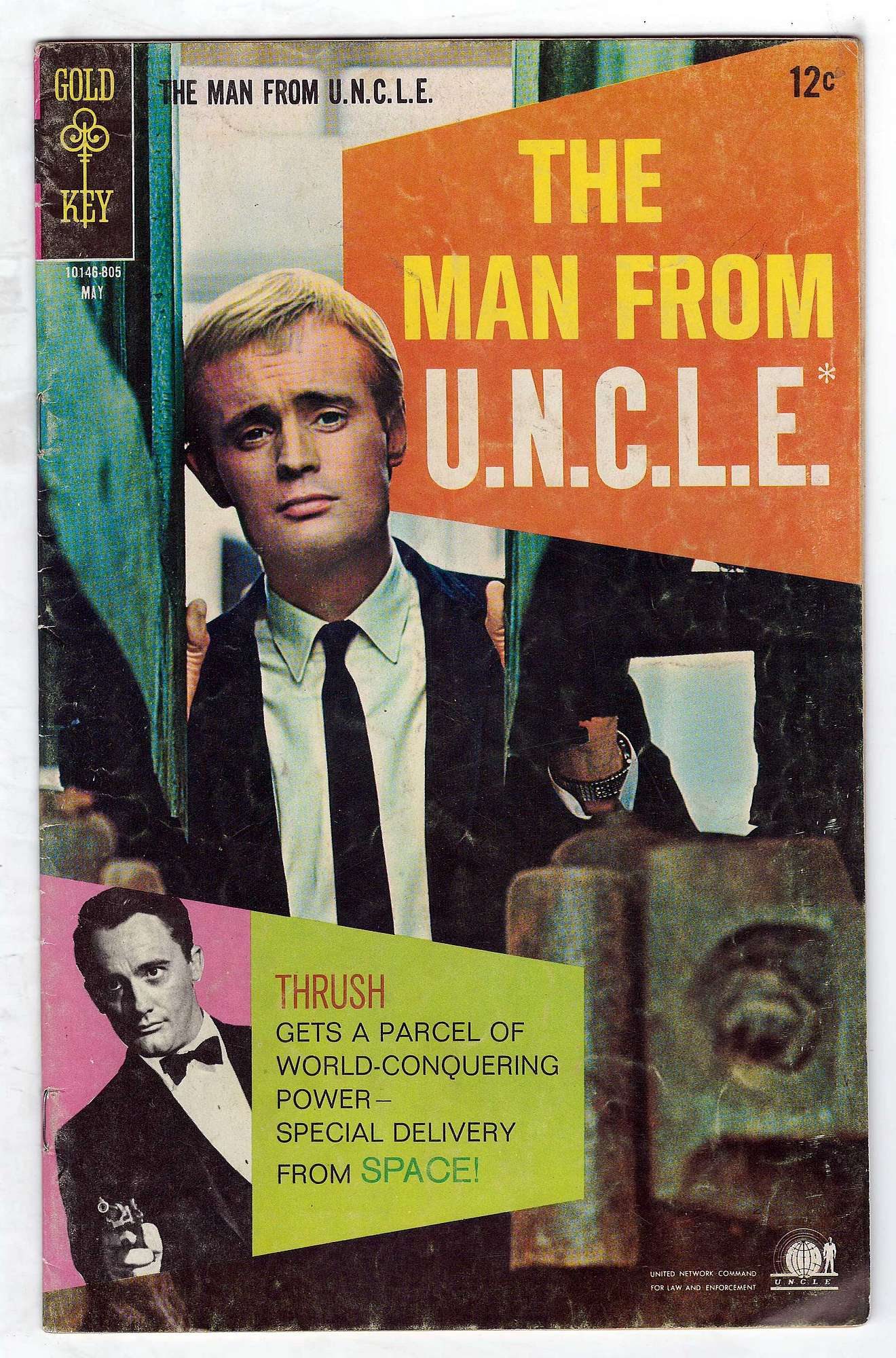 Cover of Man From U.N.C.L.E. (Vol 1) The #18. One of 250,000 Vintage American Comics on sale from Krypton!