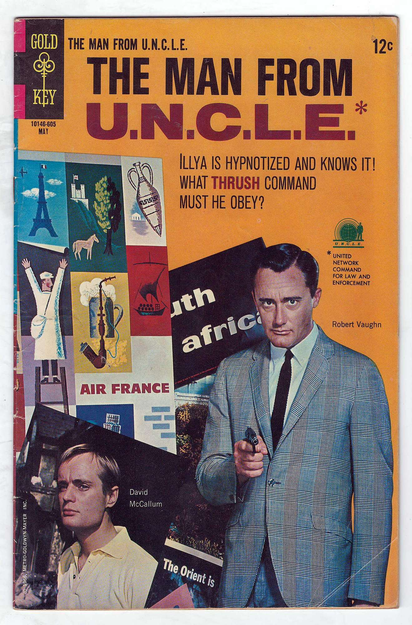Cover of Man From U.N.C.L.E. (Vol 1) The #6. One of 250,000 Vintage American Comics on sale from Krypton!