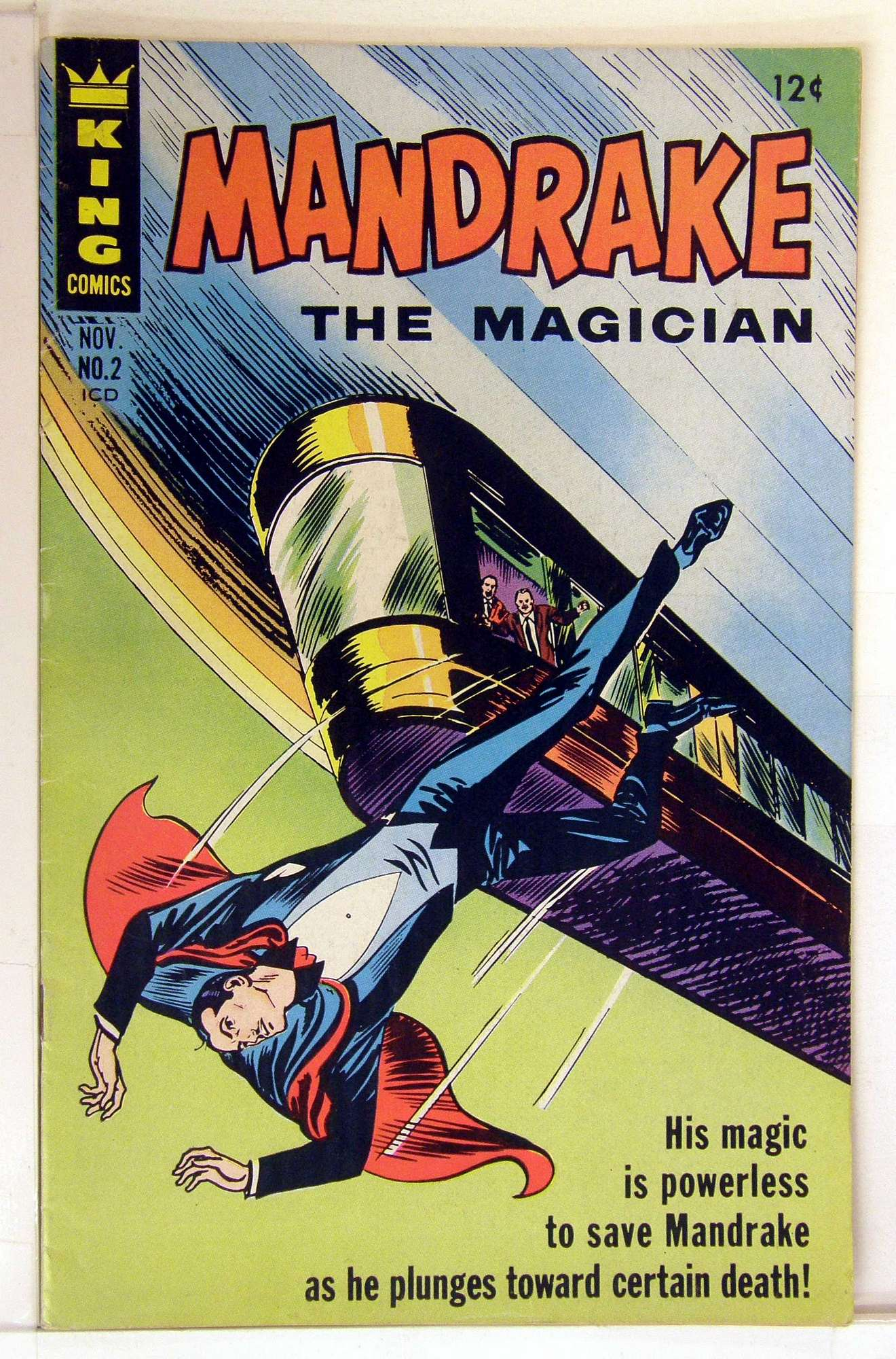 Cover of Mandrake (King Comics) #2. One of 250,000 Vintage American Comics on sale from Krypton!