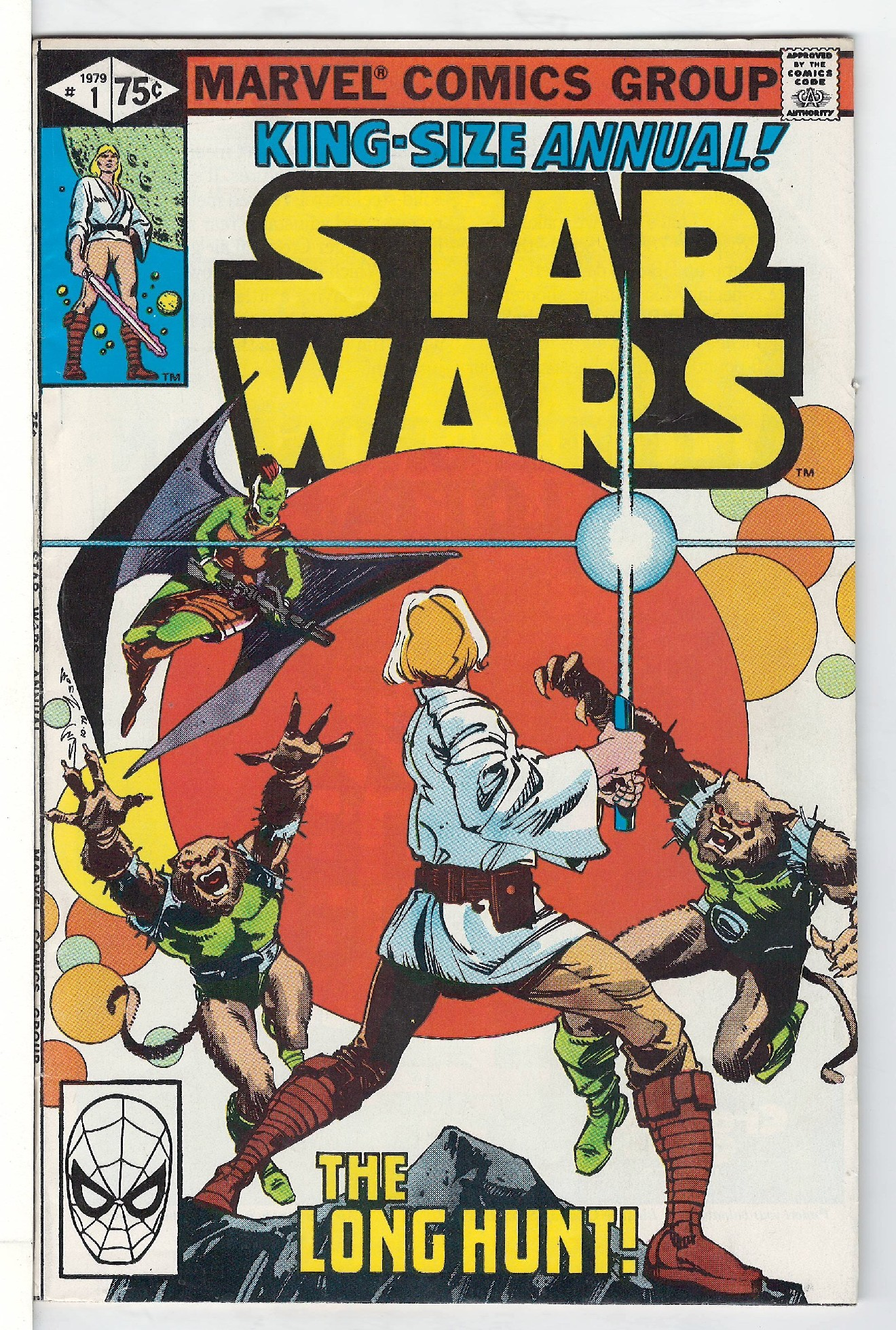 Cover of Star Wars Annual #1. One of 250,000 Vintage American Comics on sale from Krypton!