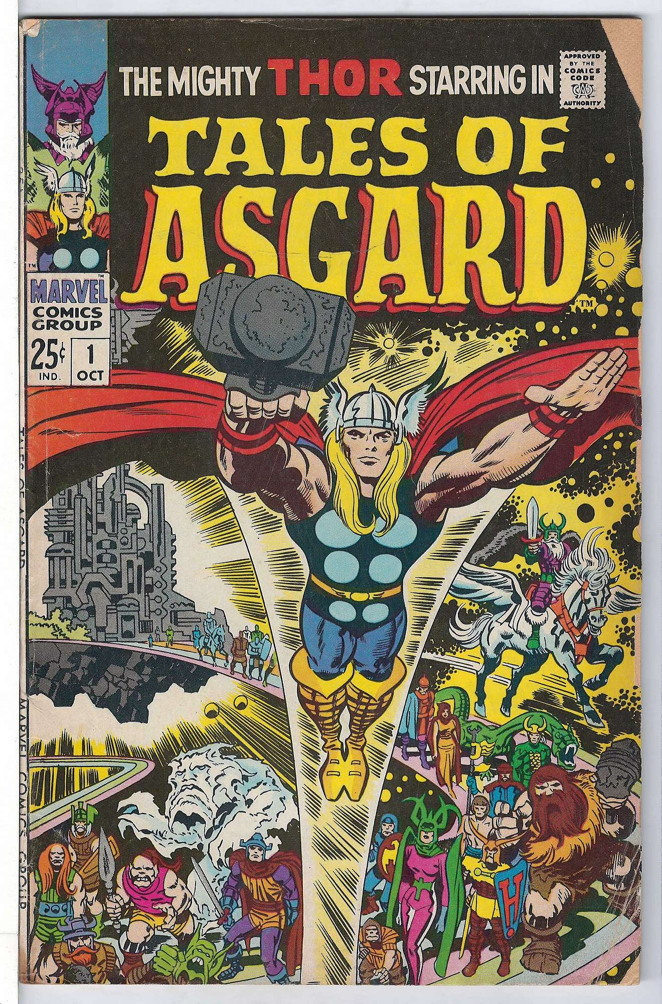 Cover of Tales of Asgard (1968 One Shot)) #1. One of 250,000 Vintage American Comics on sale from Krypton!