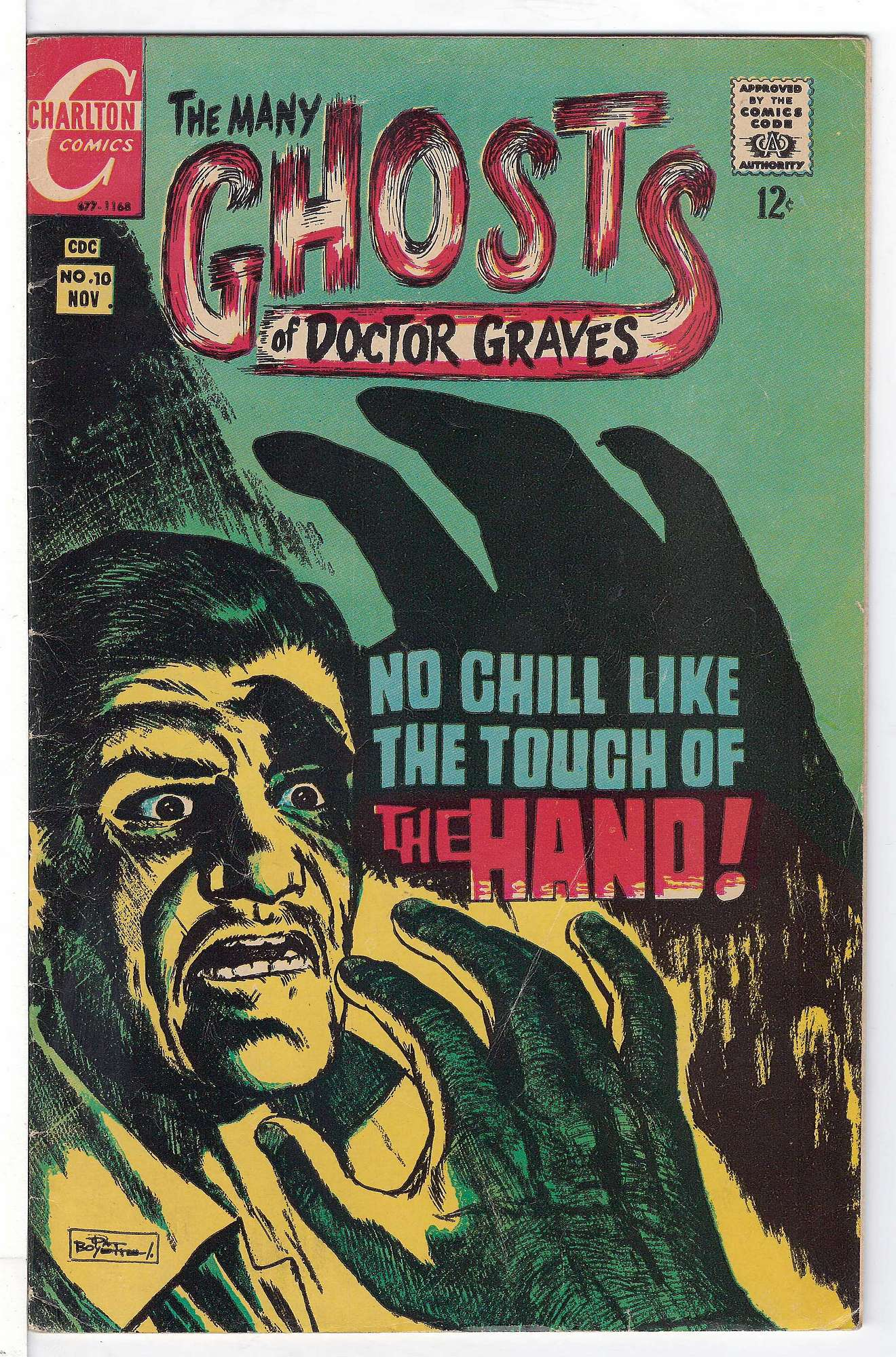 Cover of Many Ghosts of Doctor Graves #10. One of 250,000 Vintage American Comics on sale from Krypton!